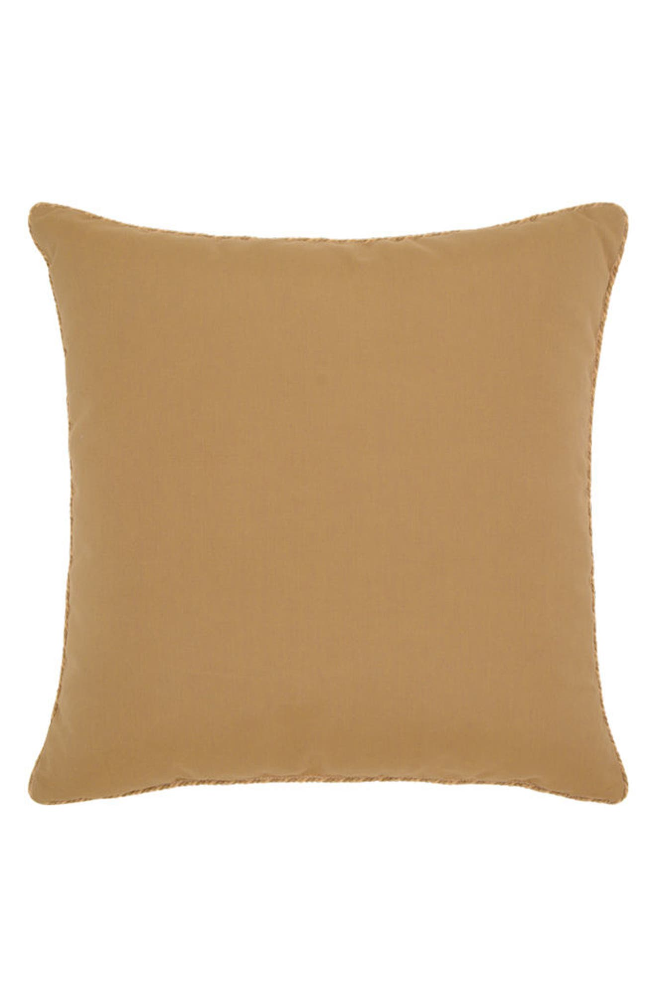 Suzani Indoor/Outdoor Accent Pillow,                             Alternate thumbnail 2, color,                             Gold/ Red