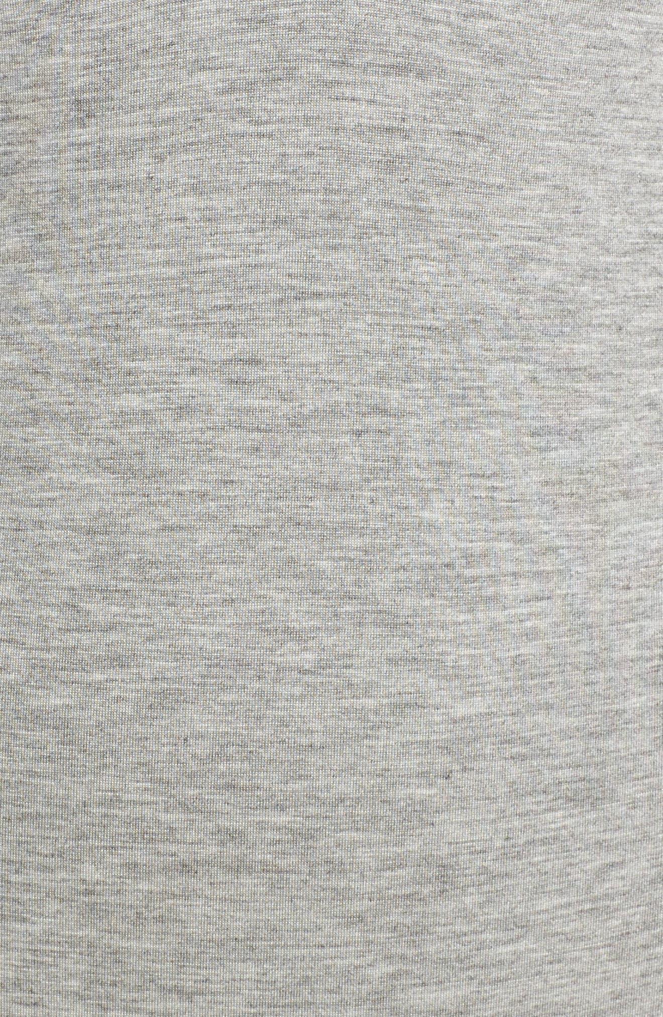 Strappy Bodysuit,                             Alternate thumbnail 6, color,                             Hthr Grey