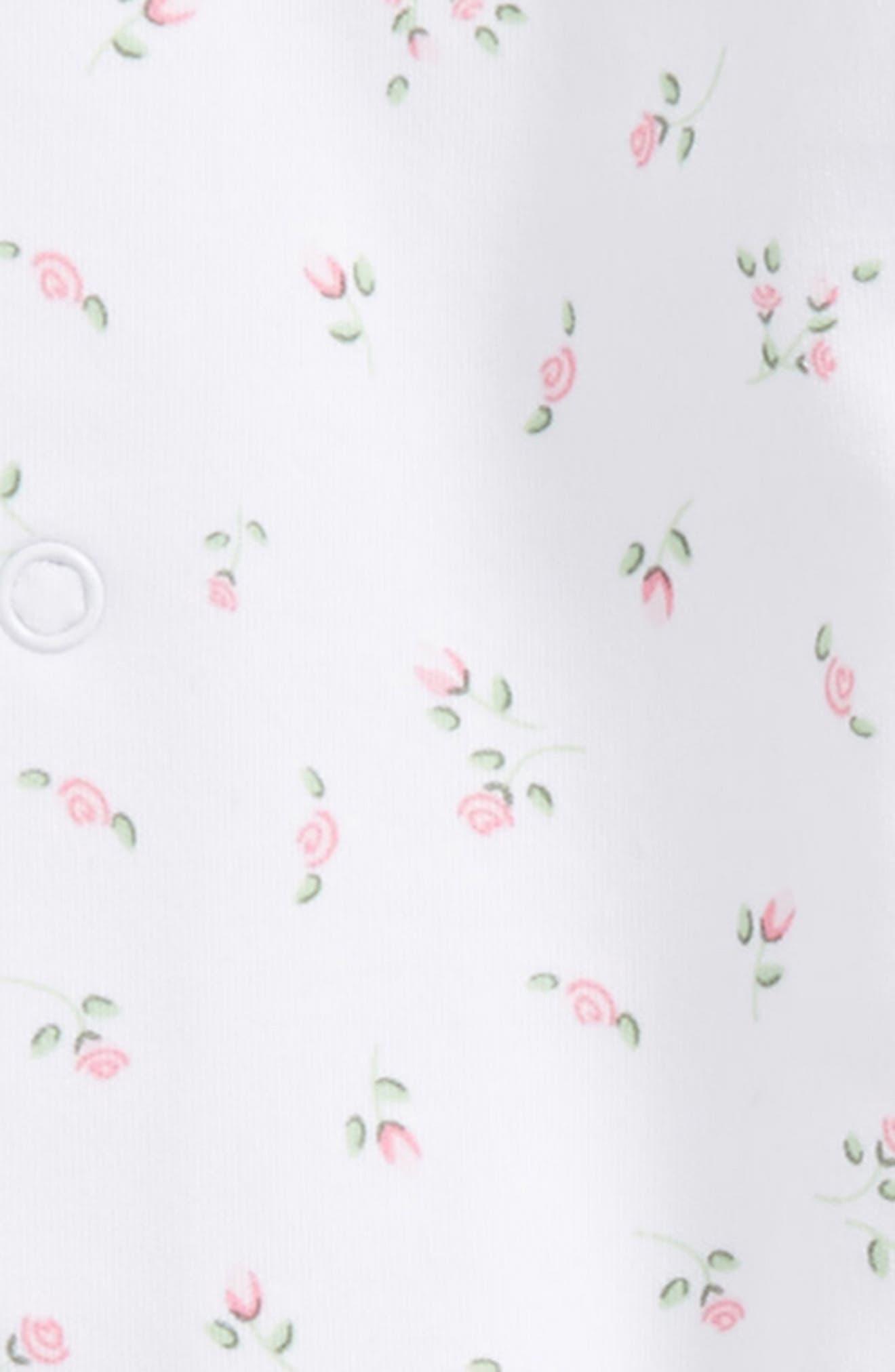 Convertible Pima Cotton Gown,                             Alternate thumbnail 2, color,                             Garden Roses
