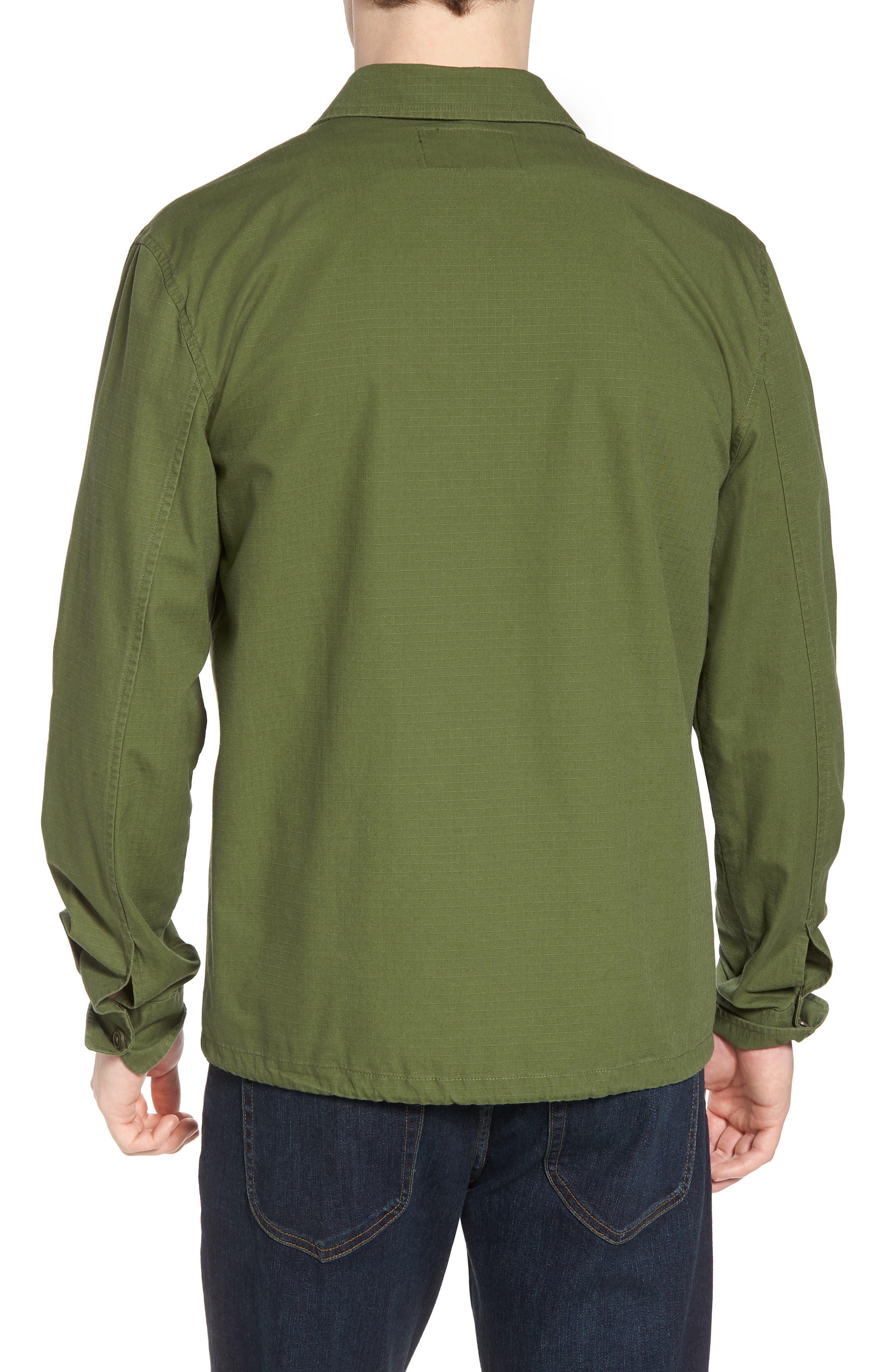 Oakledge Ripstop Shirt Jacket,                             Alternate thumbnail 2, color,                             Olive