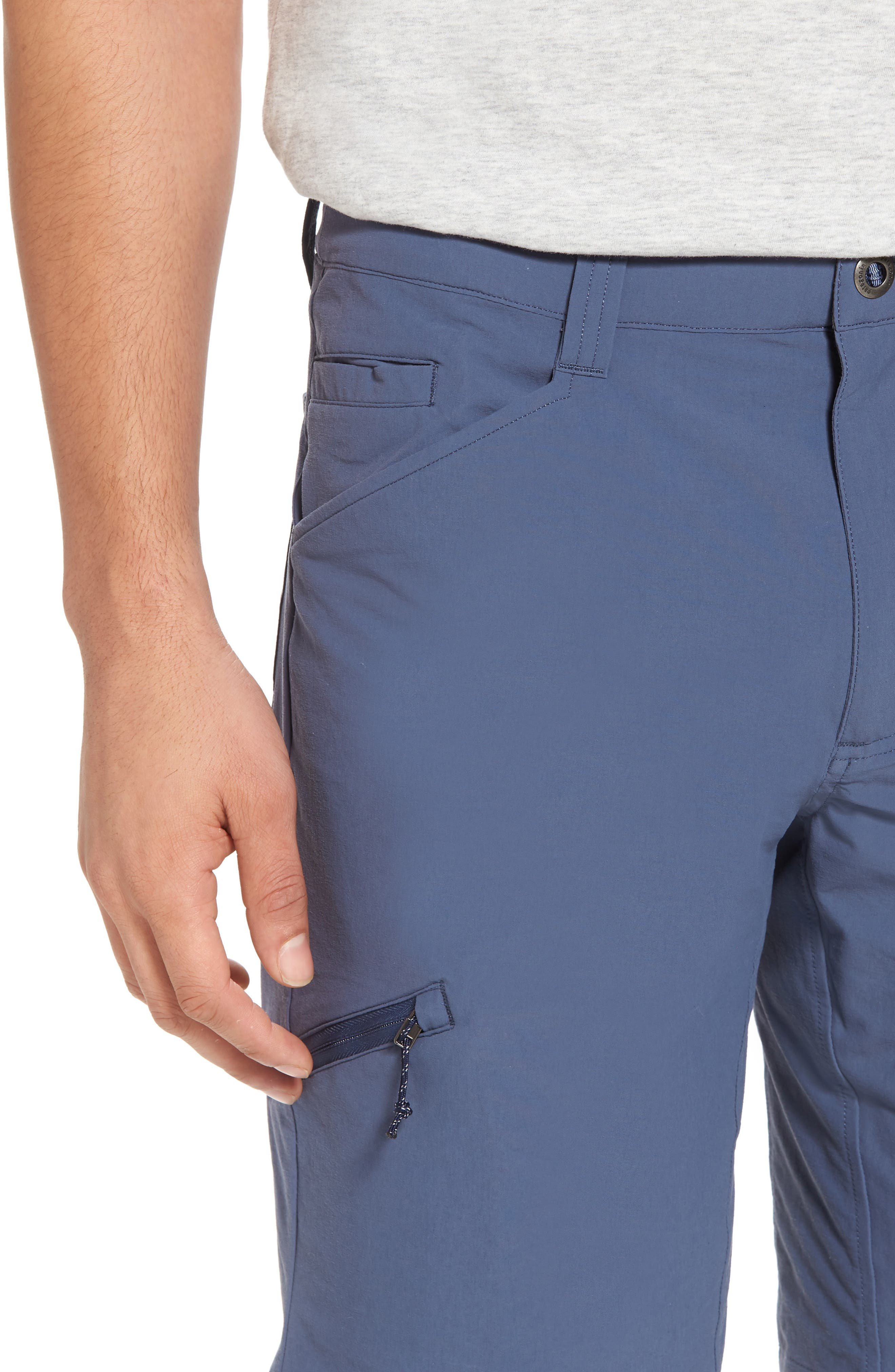 Quandary Shorts,                             Alternate thumbnail 4, color,                             Dolomite Blue