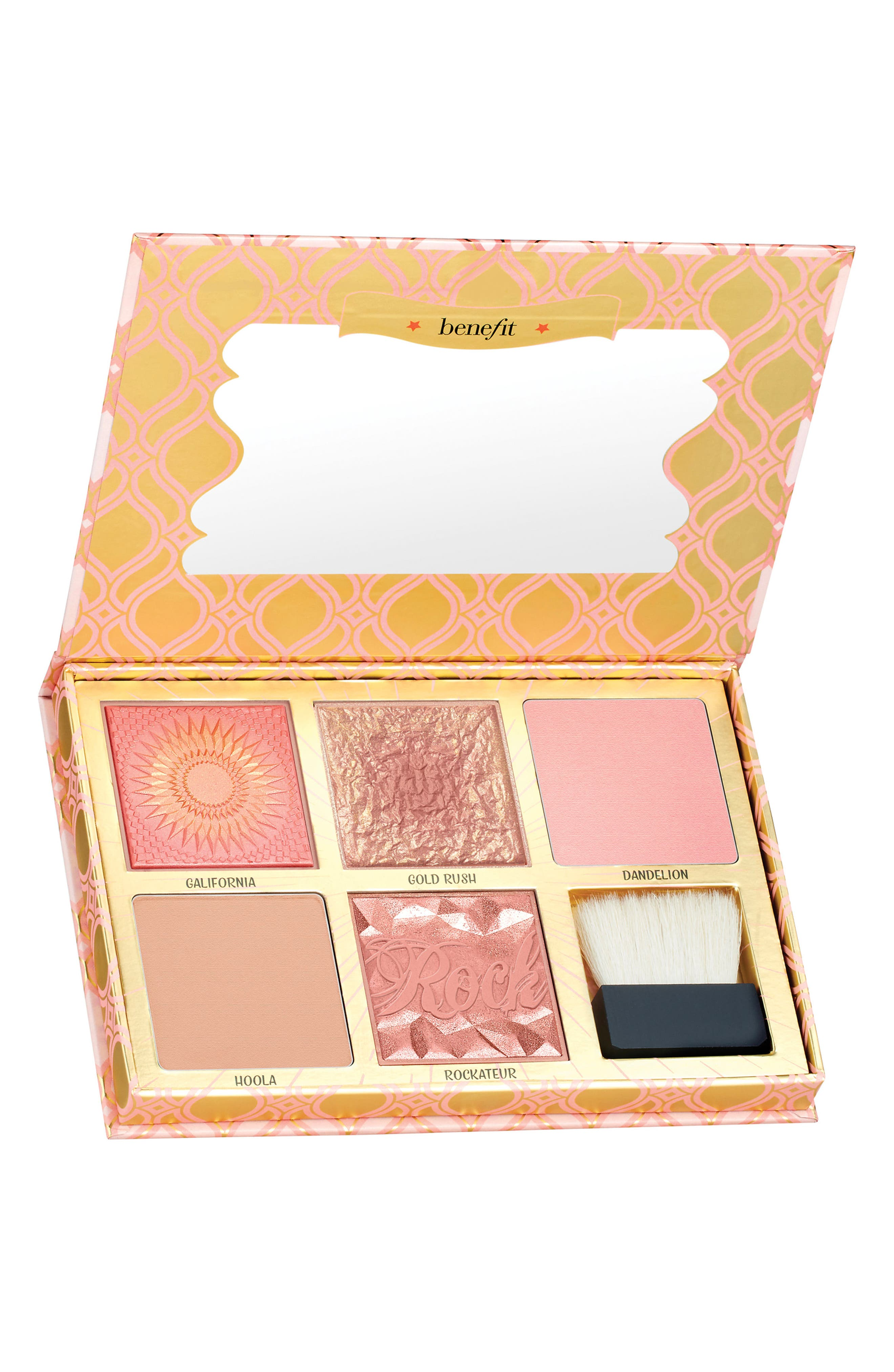 Benefit Cheeks on Pointe Blush Bar Cheek Palette,                         Main,                         color, No Color