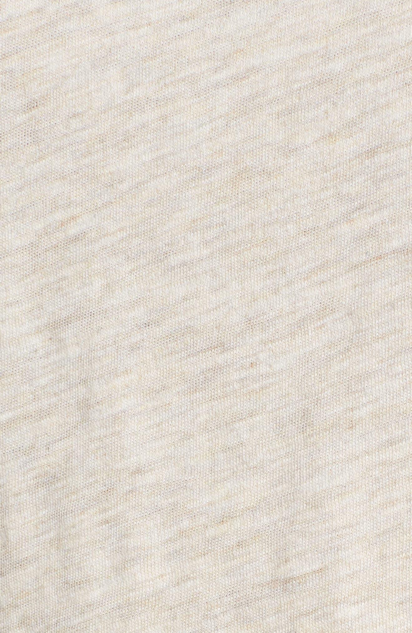 Organic Cotton Tunic,                             Alternate thumbnail 6, color,                             Natural