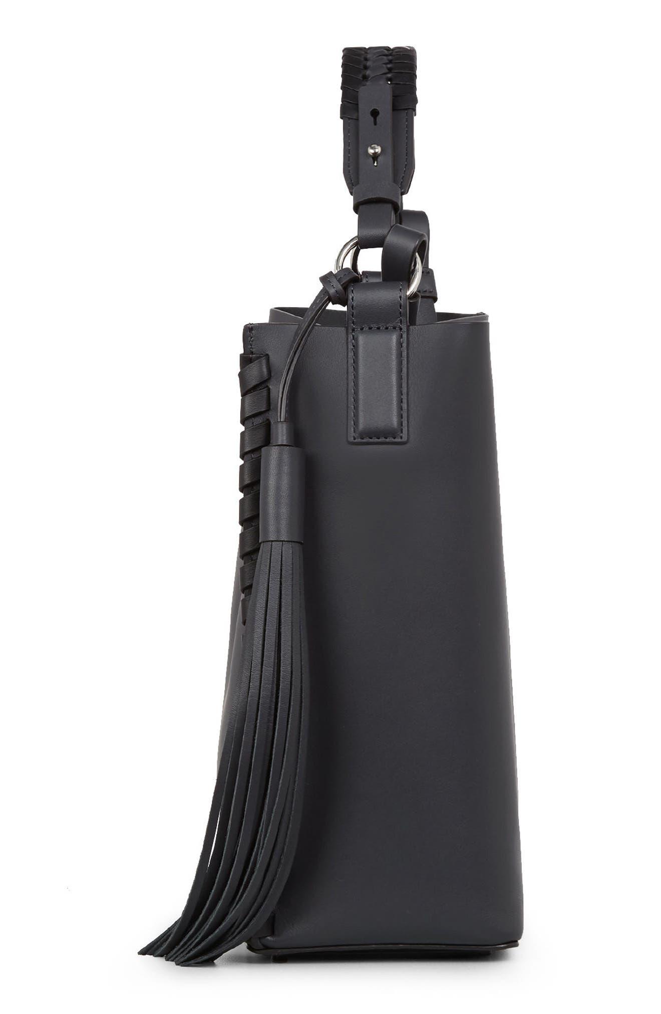 Alternate Image 4  - ALLSAINTS Kepi Leather Shoulder Bag