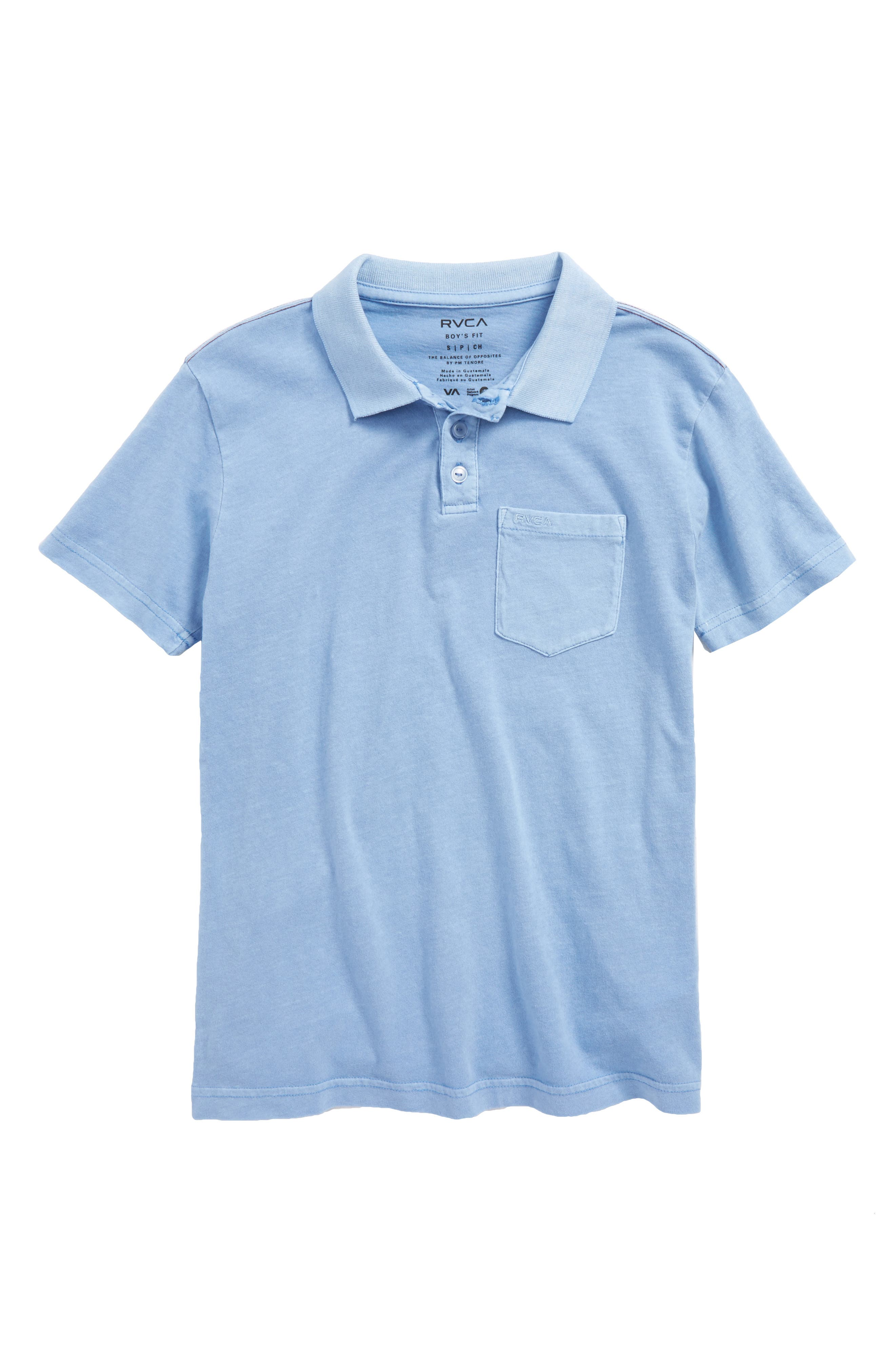 RVCA Pigment Polo (Big Boys)