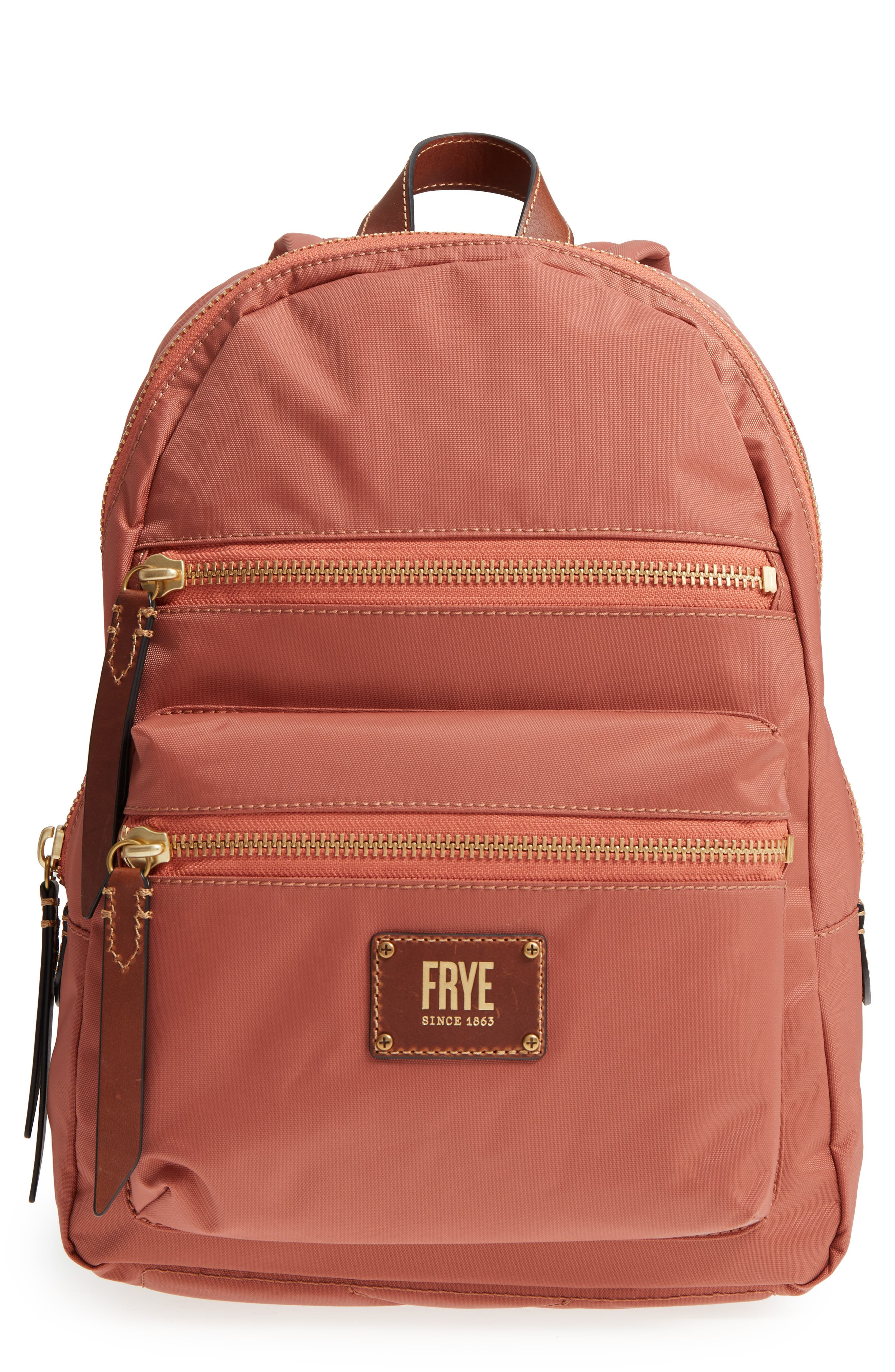 Frye Ivy Water Repellent Textile Backpack