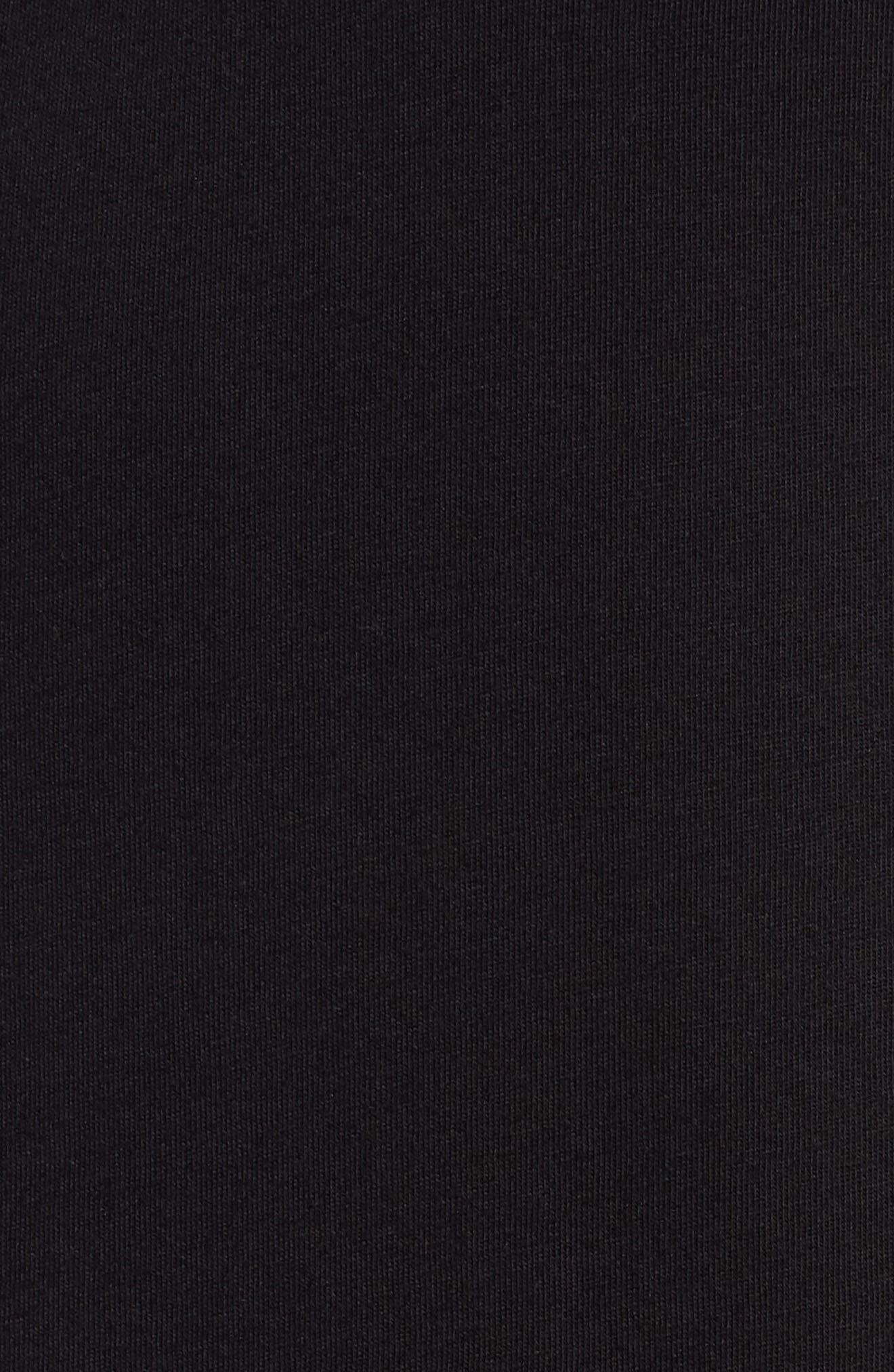 Dimage T-Shirt,                             Alternate thumbnail 5, color,                             Black