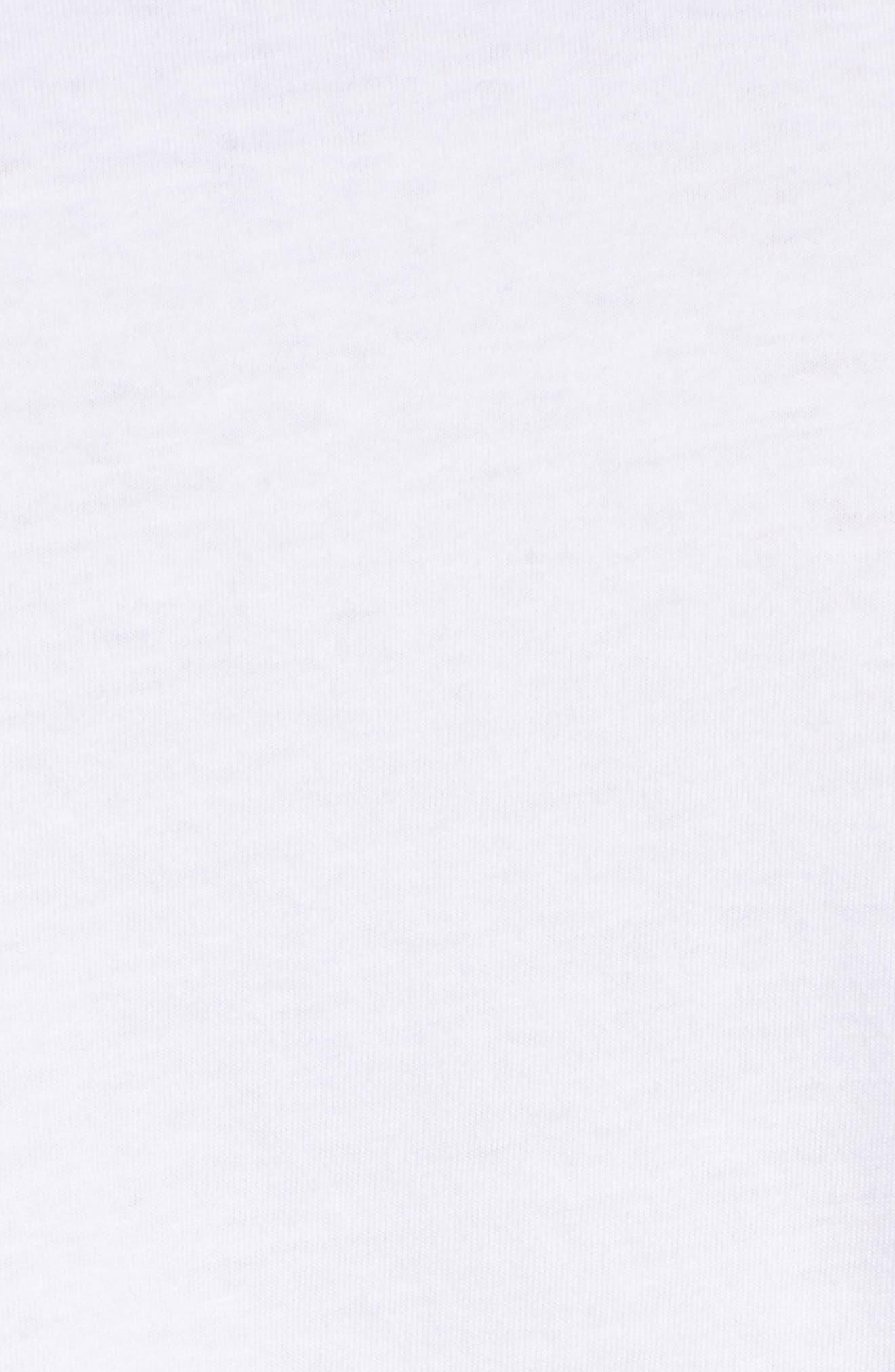 Long Sleeve Jersey Polo,                             Alternate thumbnail 5, color,                             White