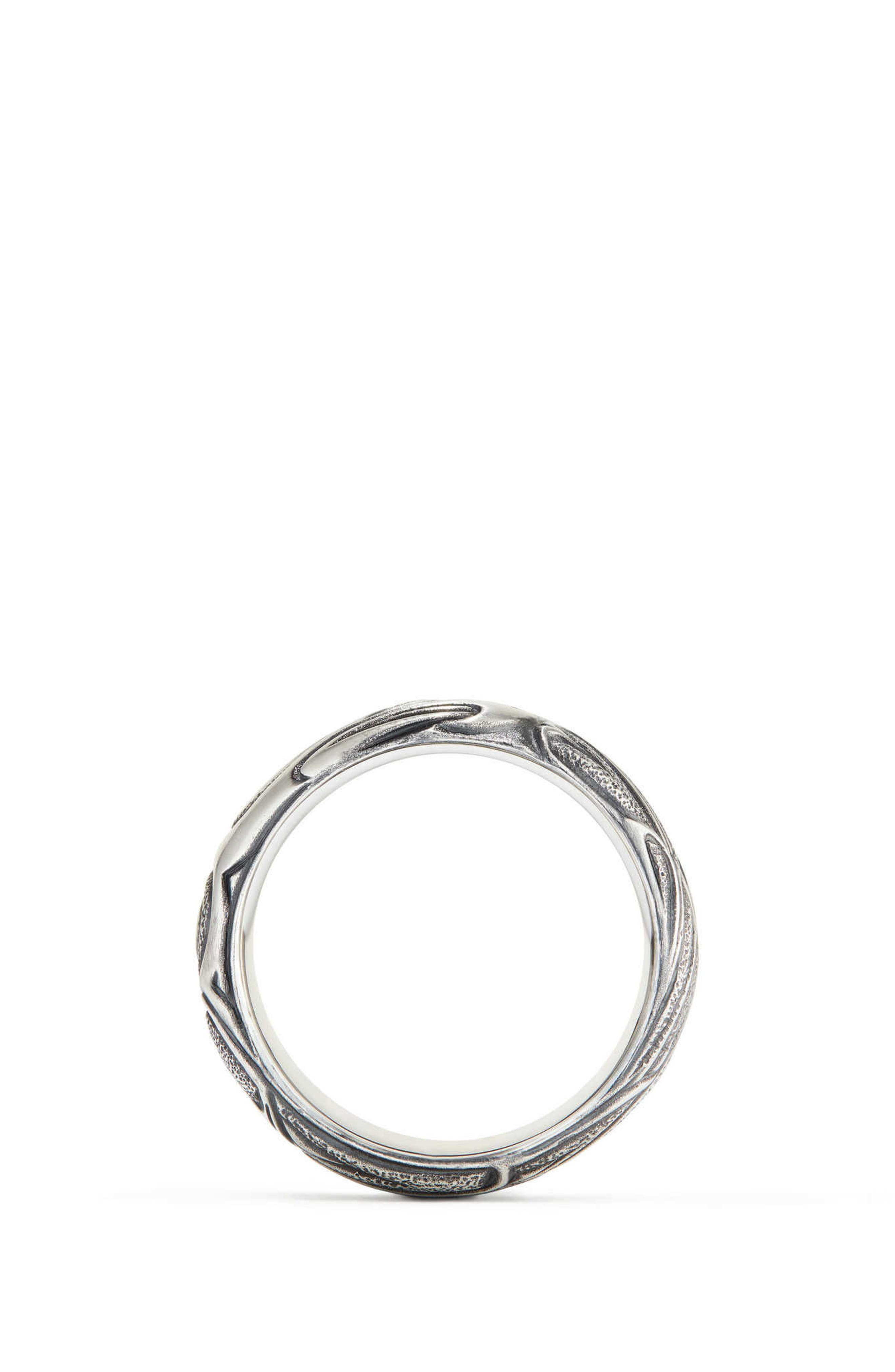 Northwest Wide Band Ring,                             Alternate thumbnail 2, color,                             Silver
