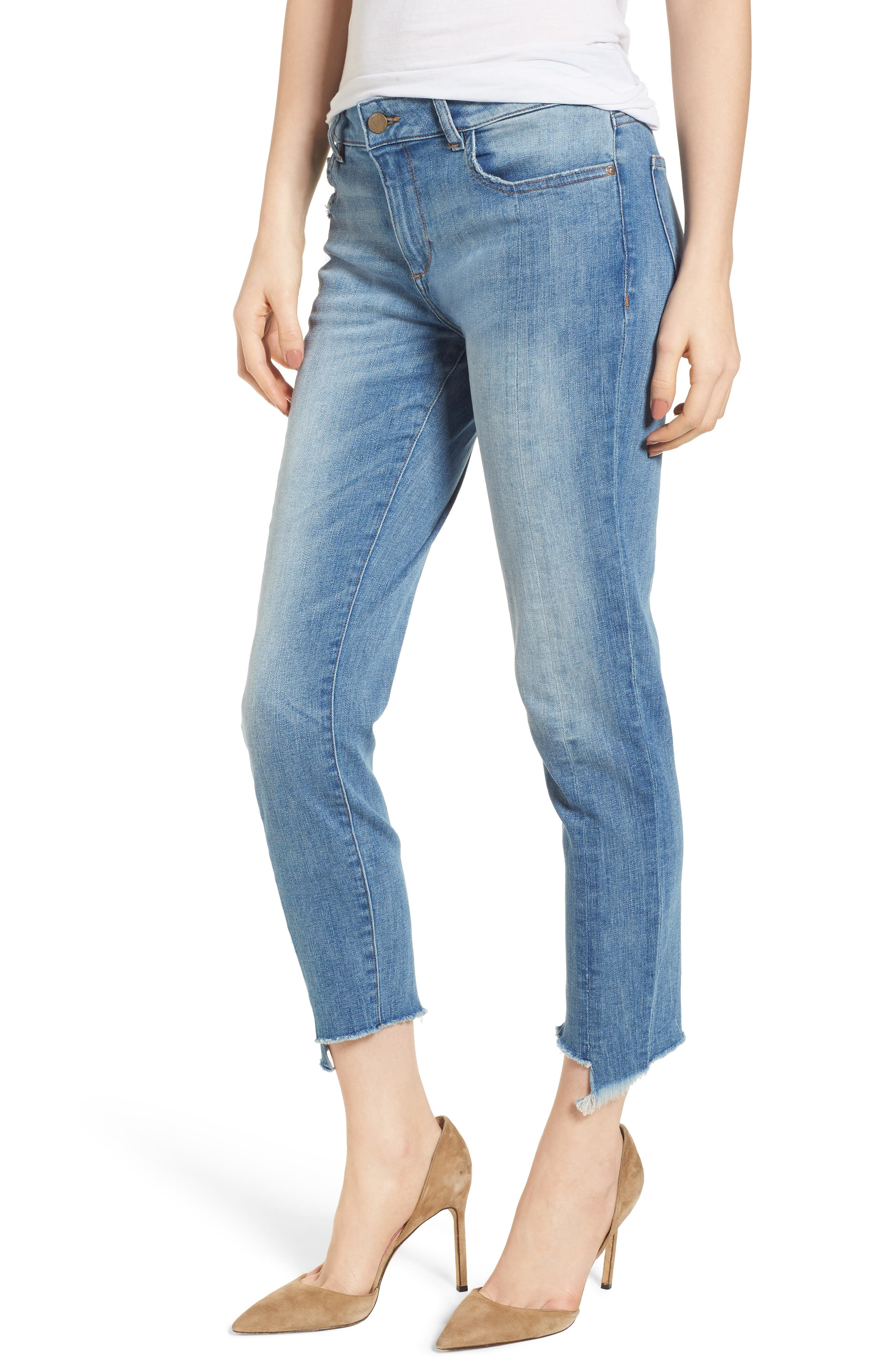Florence Instasculpt Crop Skinny Jeans,                             Main thumbnail 1, color,                             New Town