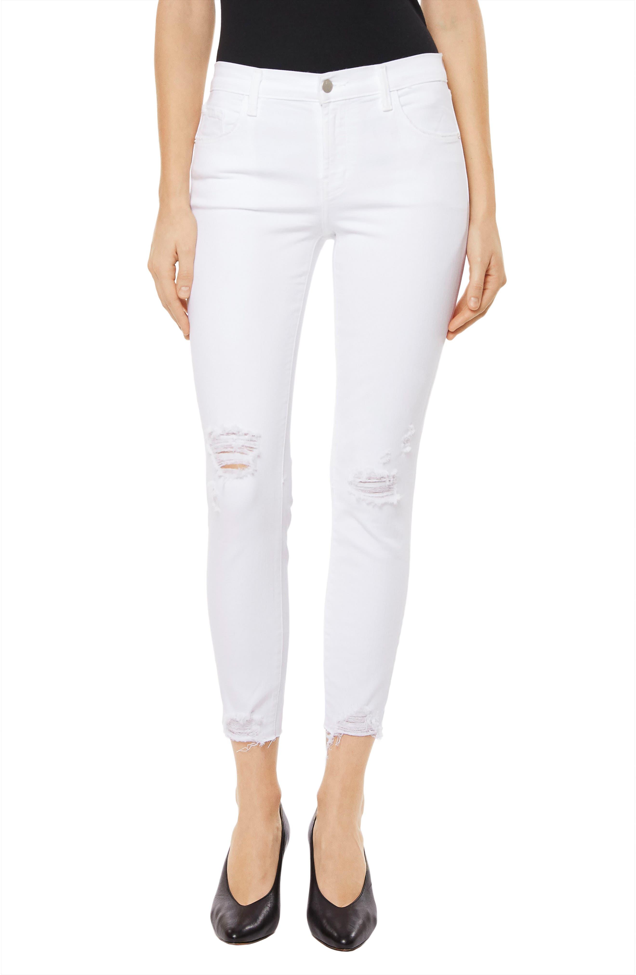 835 Capri Skinny Jeans,                         Main,                         color, Underexposed