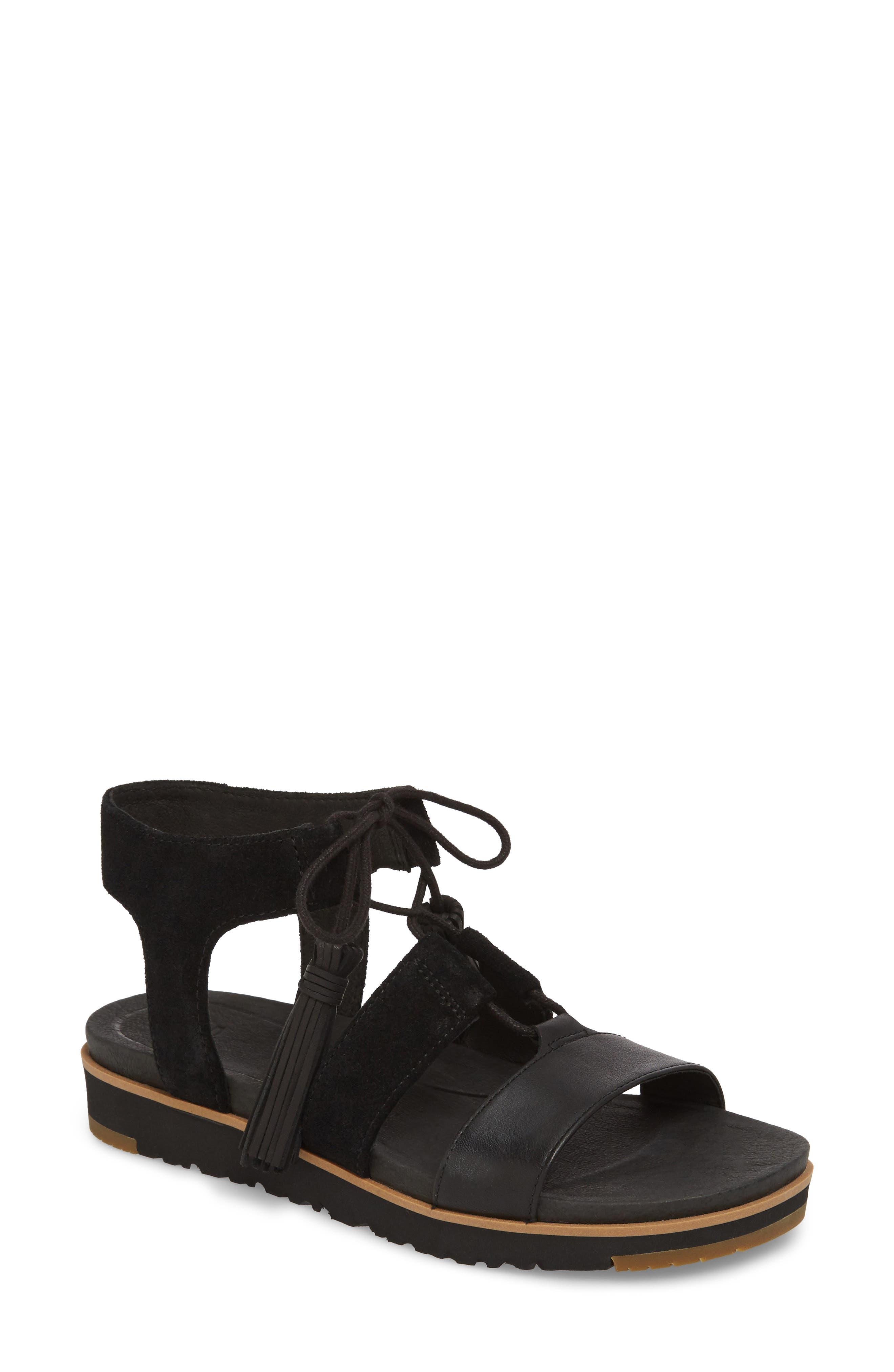 UGG® Maryssa Tassel Sandal (Women)