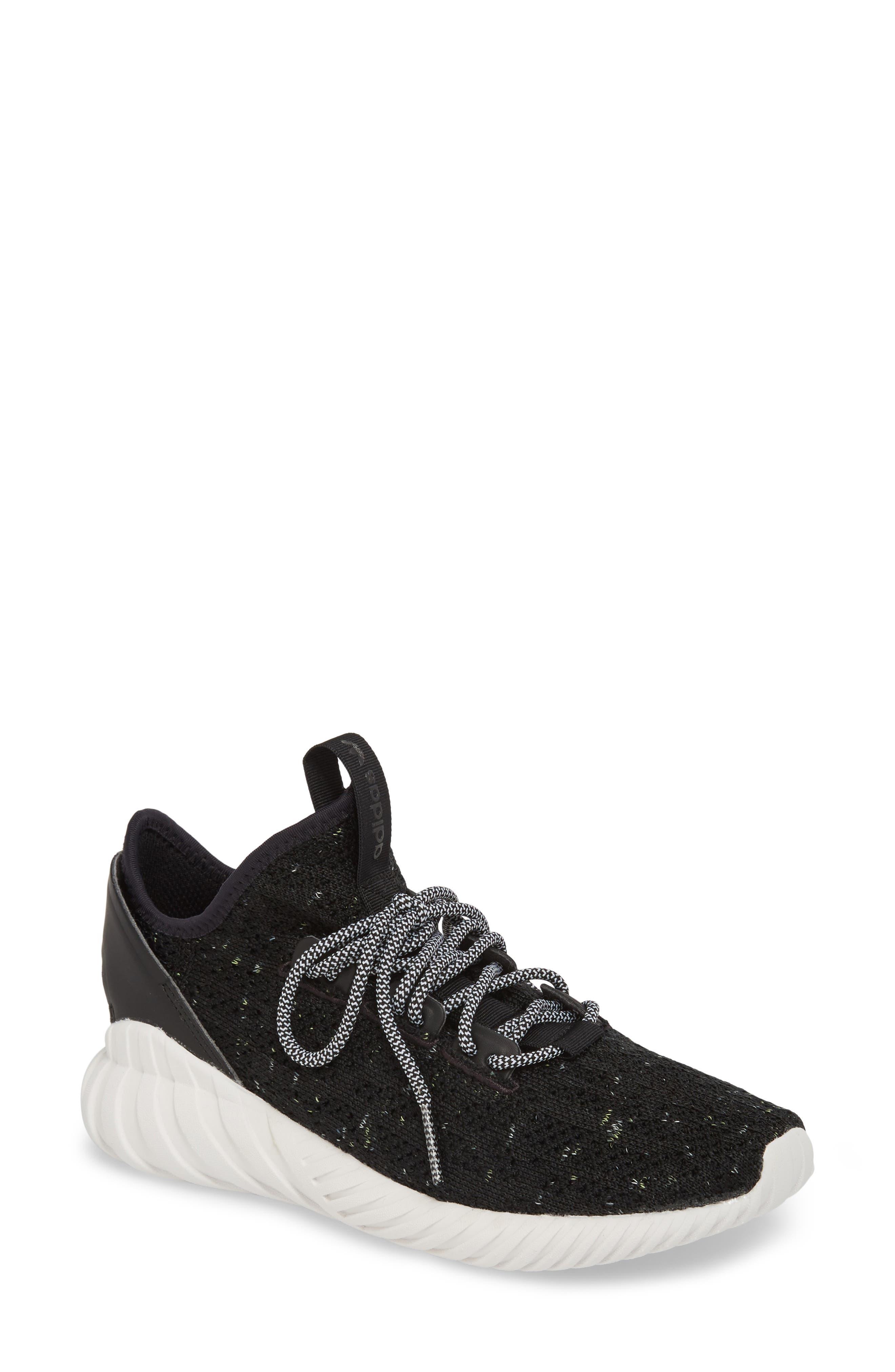 Alternate Image 1 Selected - adidas Tubular Doom Sock Primeknit Sneaker (Women)