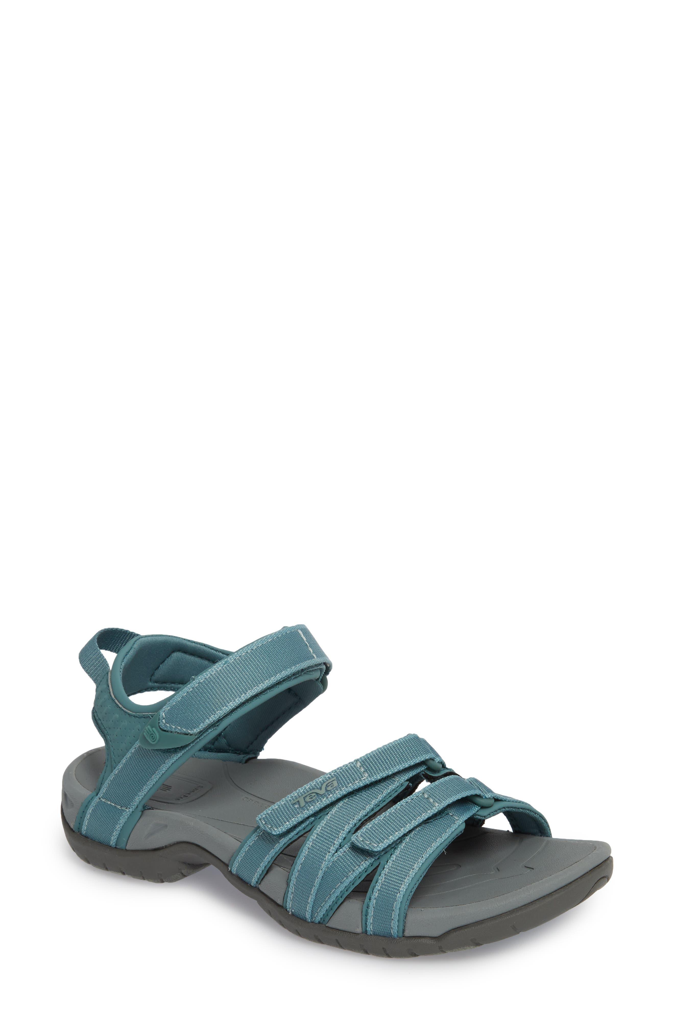 'Tirra' Sandal,                         Main,                         color, North Atlantic