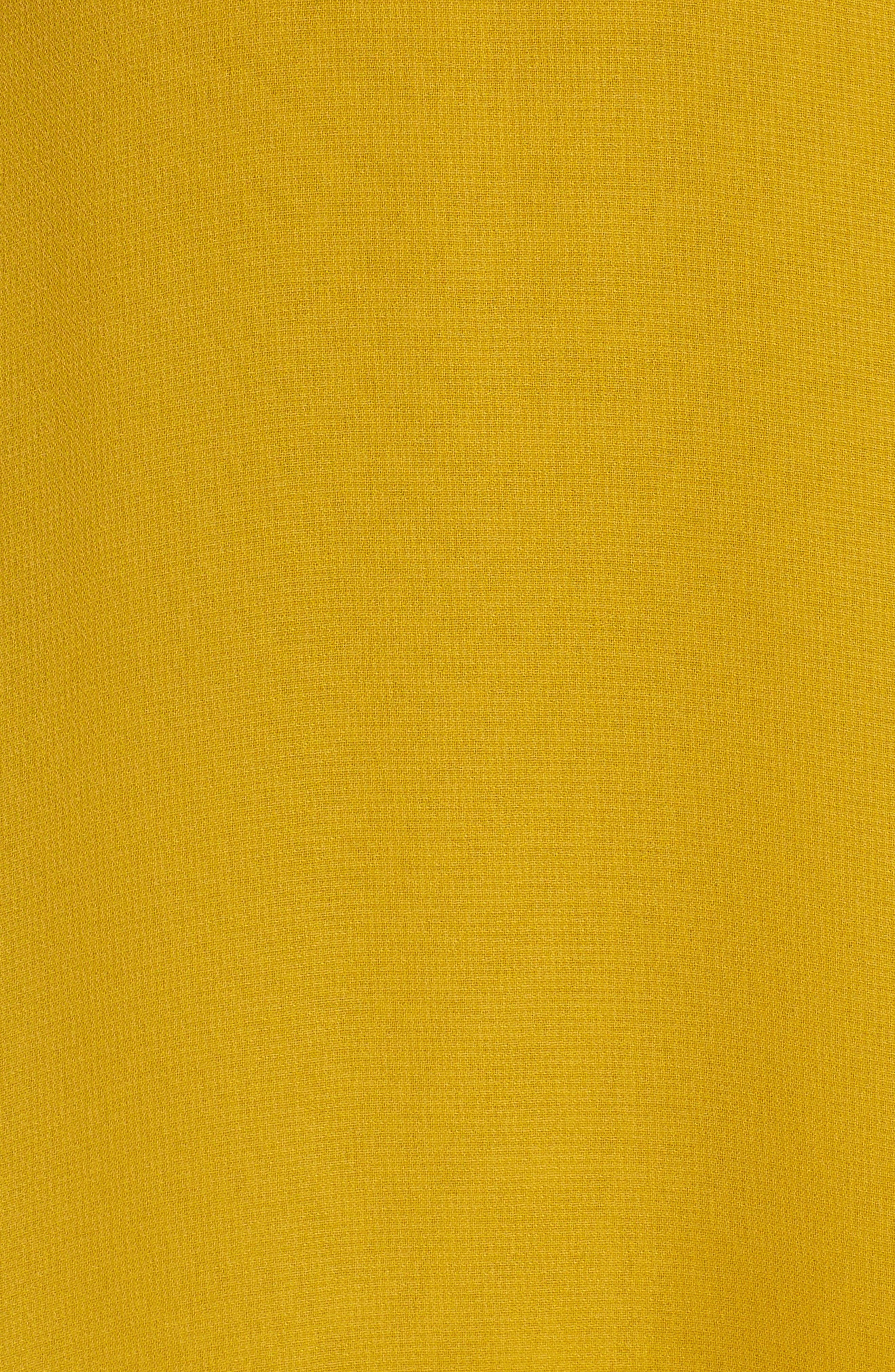 Alternate Image 5  - Jenny Yoo Alanna Open Back Chiffon Gown