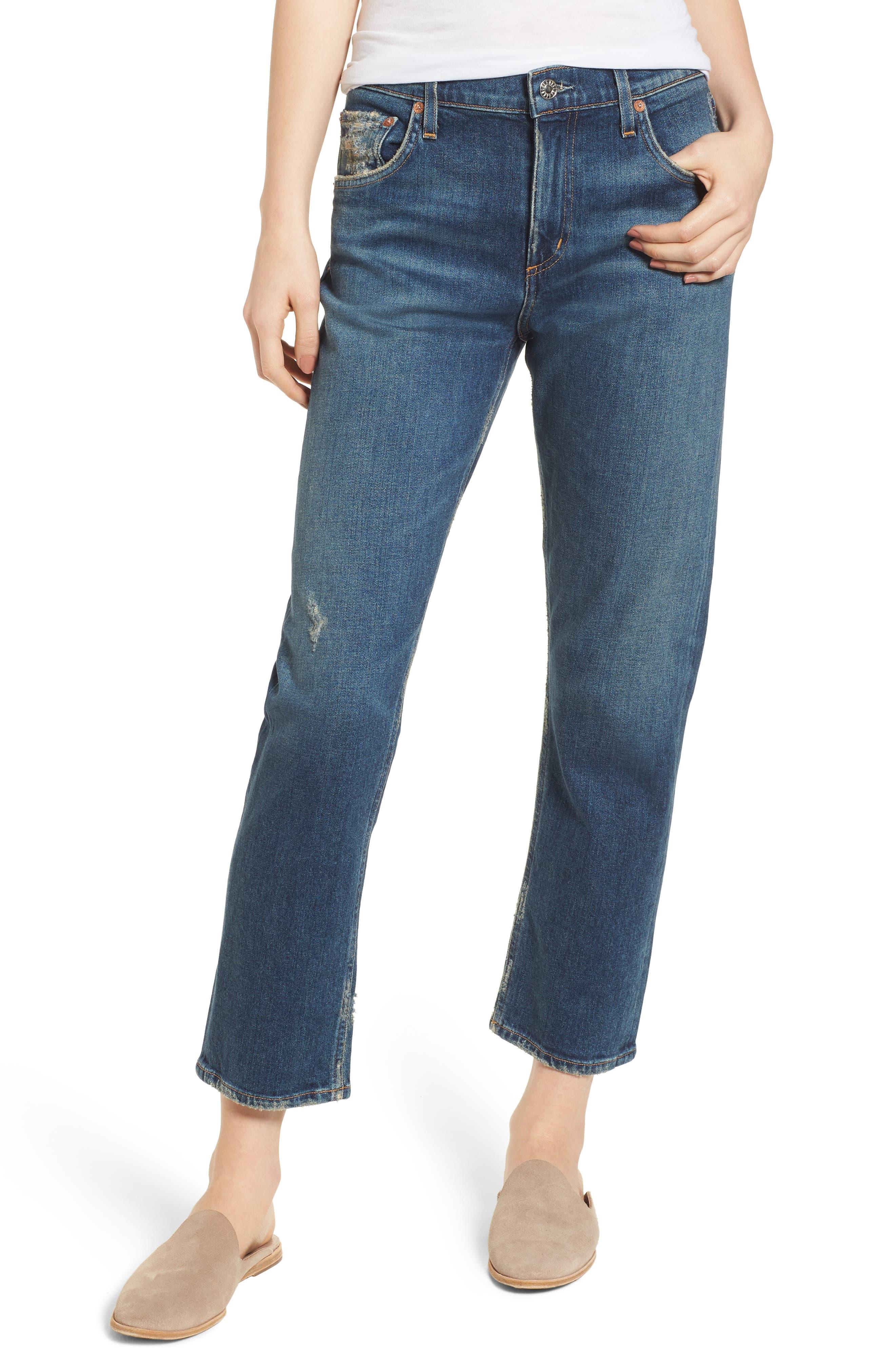 Isabel Ankle Slim Boyfriend Jeans,                         Main,                         color, Sanctuary