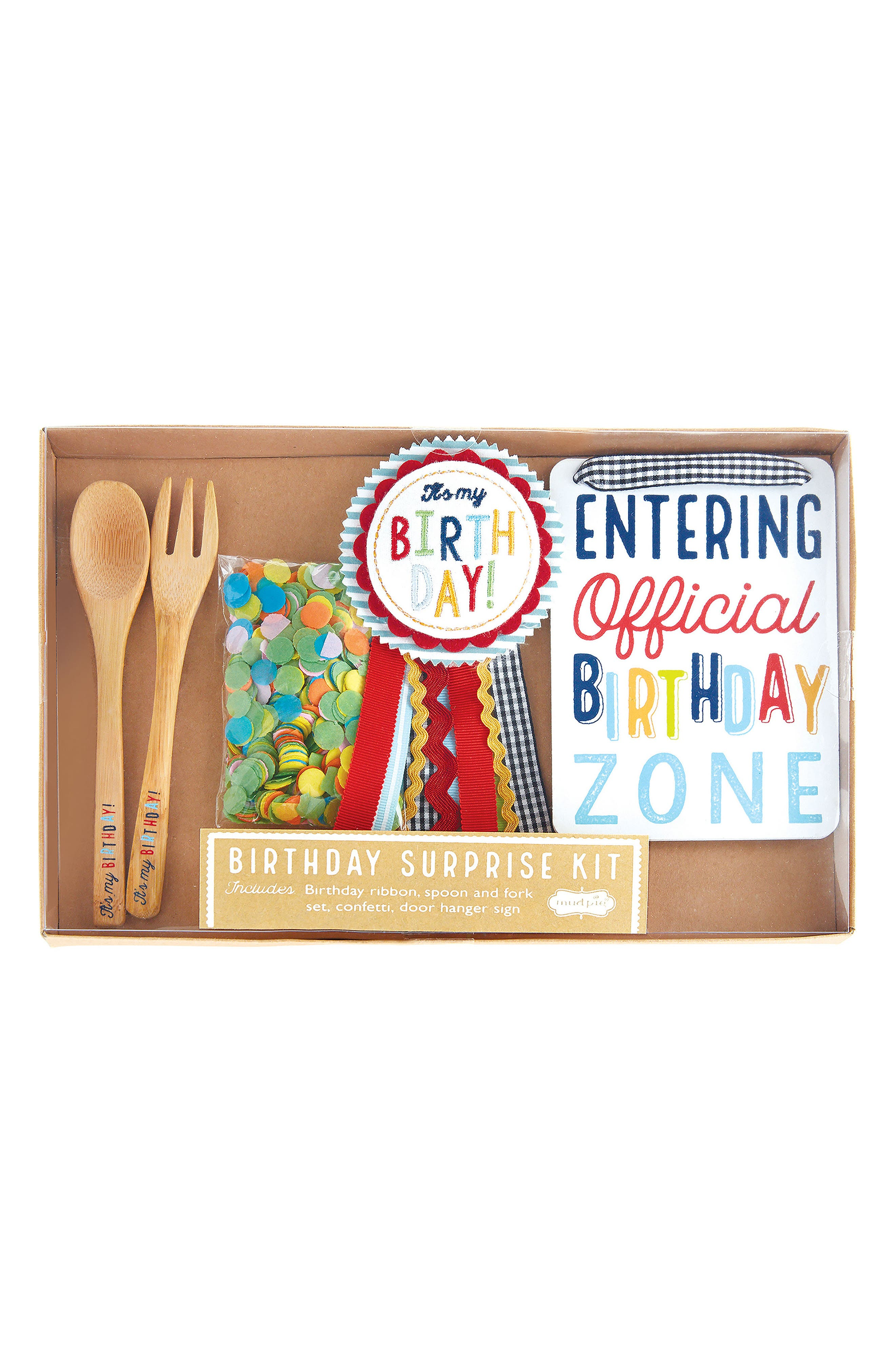 Birthday Surprise Kit,                         Main,                         color, Multi
