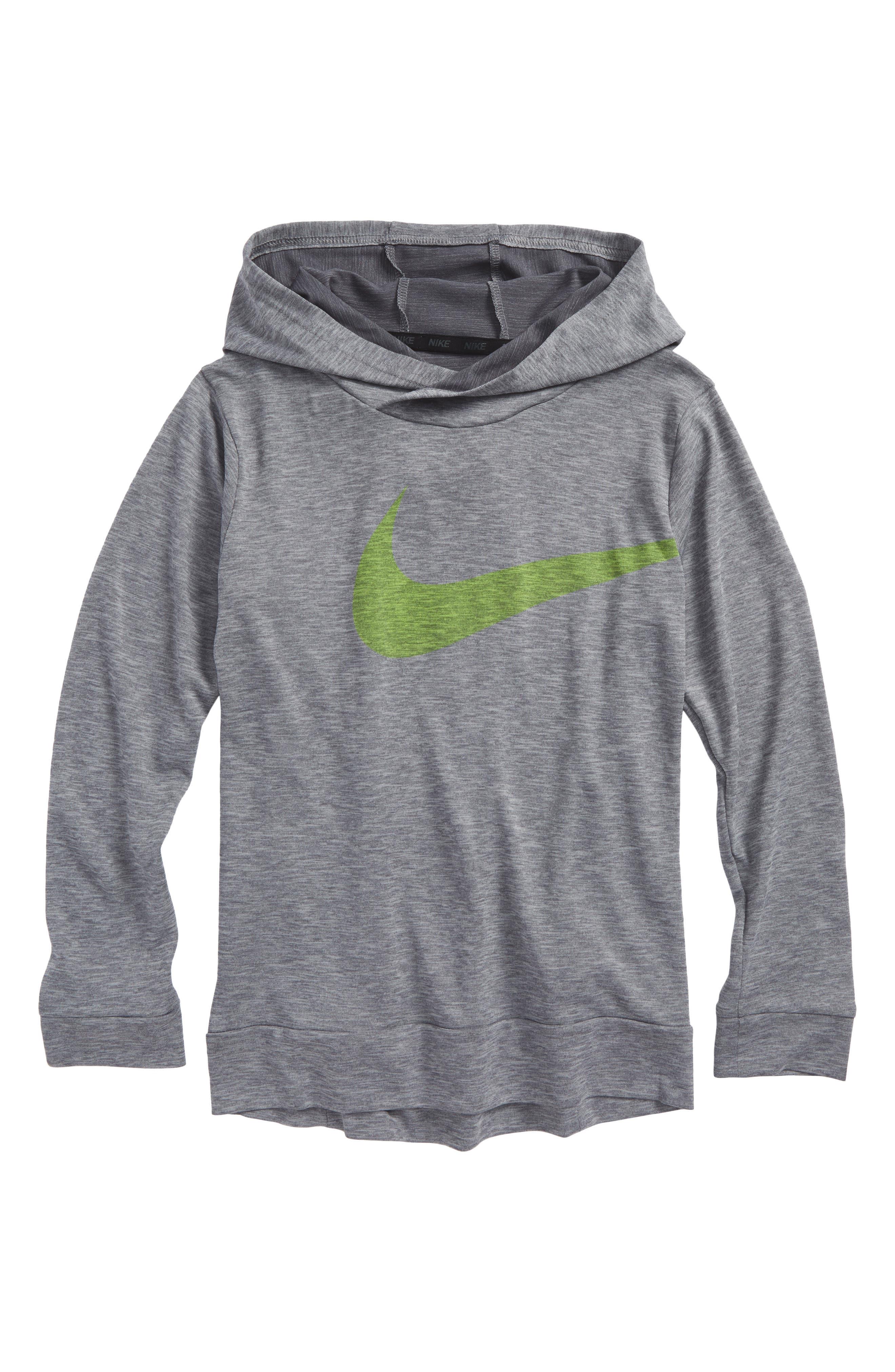 Alternate Image 1 Selected - Nike Breathe Training Hoodie (Little Boys & Big Boys)