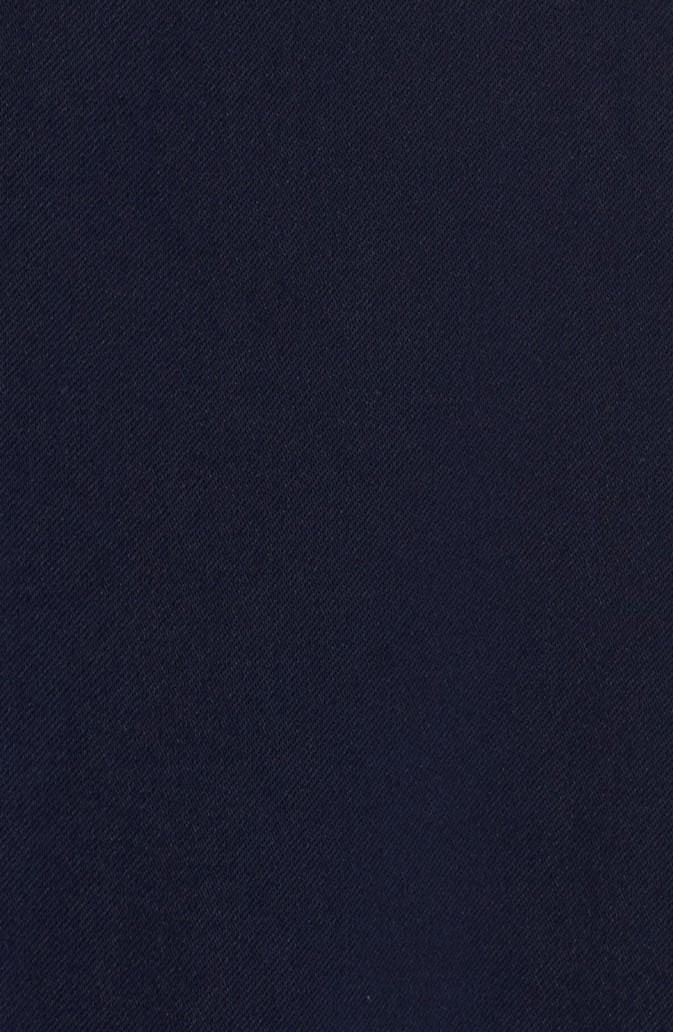 Sadie Ruffle Jumpsuit,                             Alternate thumbnail 5, color,                             Navy