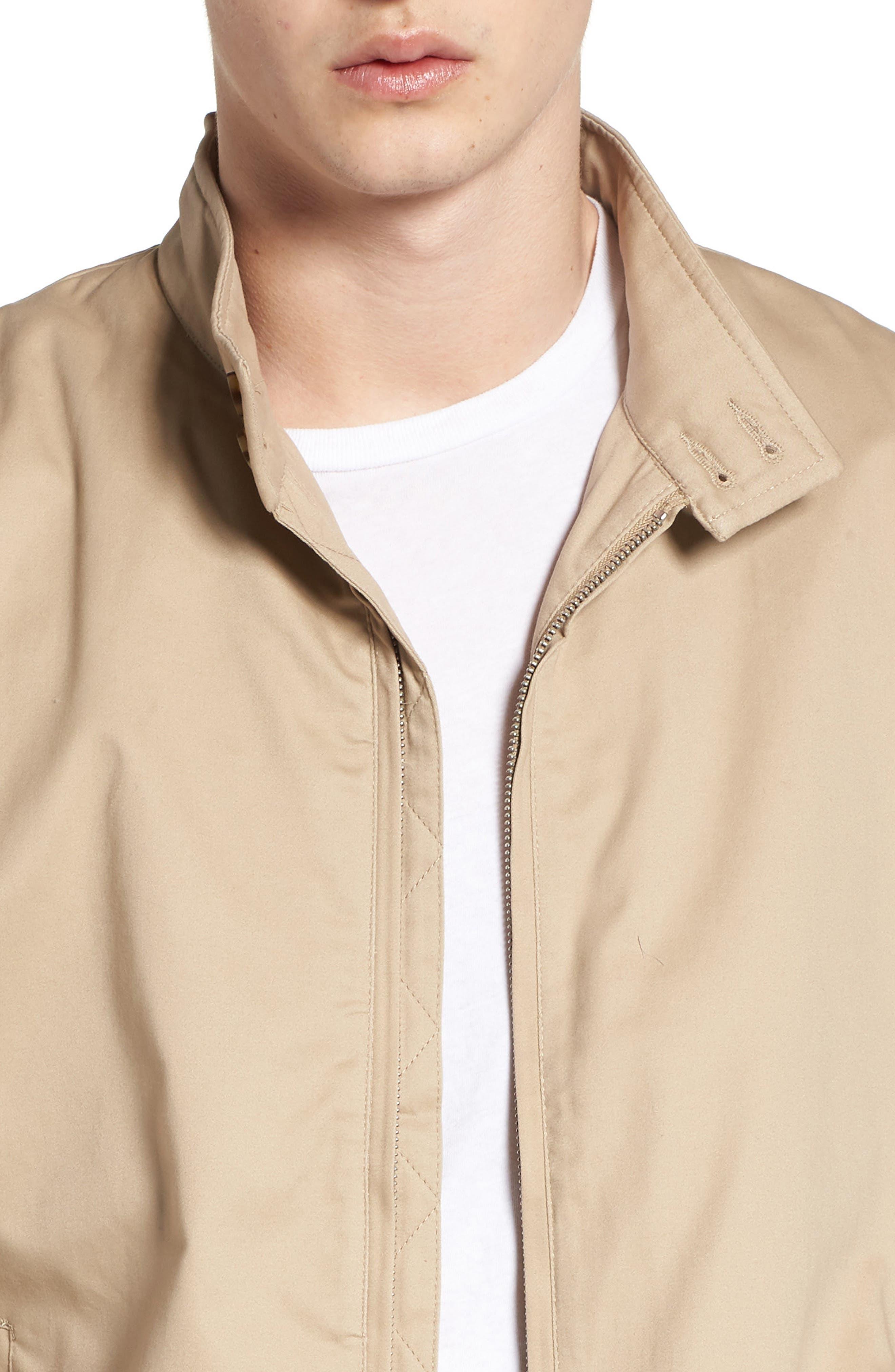 Harrington Jacket,                             Alternate thumbnail 4, color,                             Stone