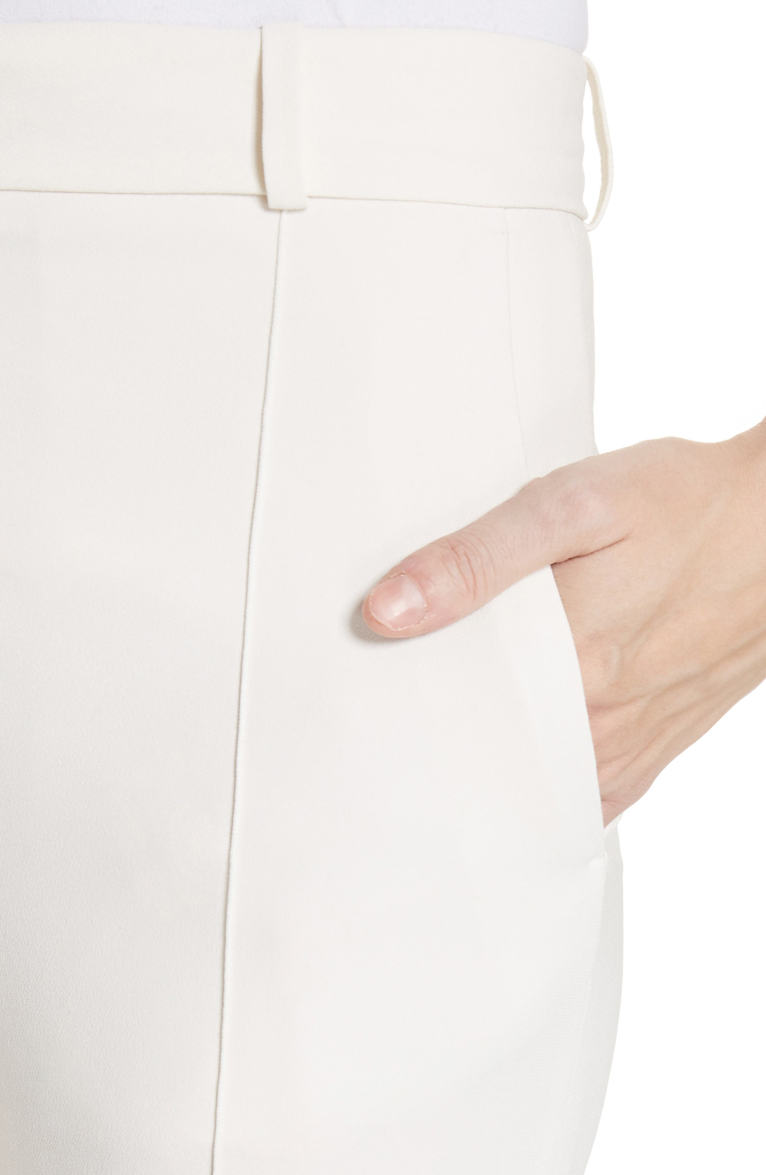 Flare Pants,                             Alternate thumbnail 4, color,                             Vanilla