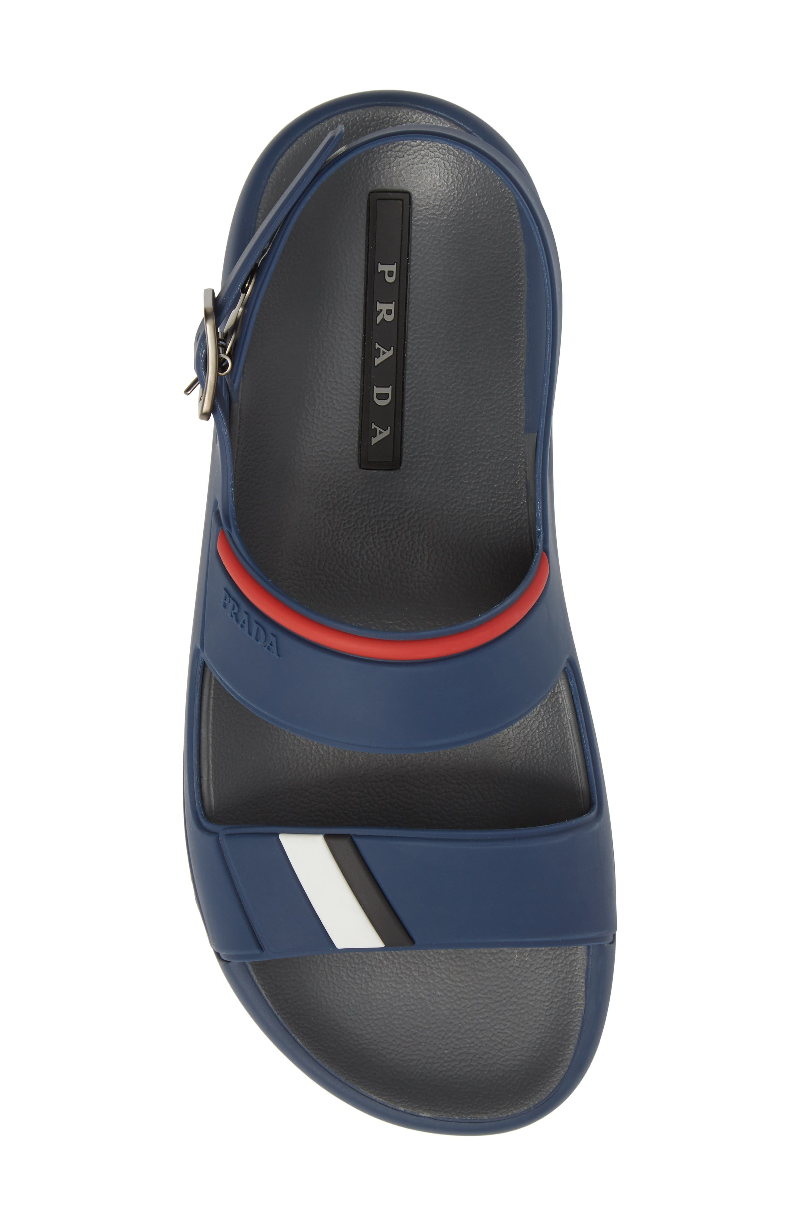 Alternate Image 5  - Prada Linea Rossa Sandal (Men)