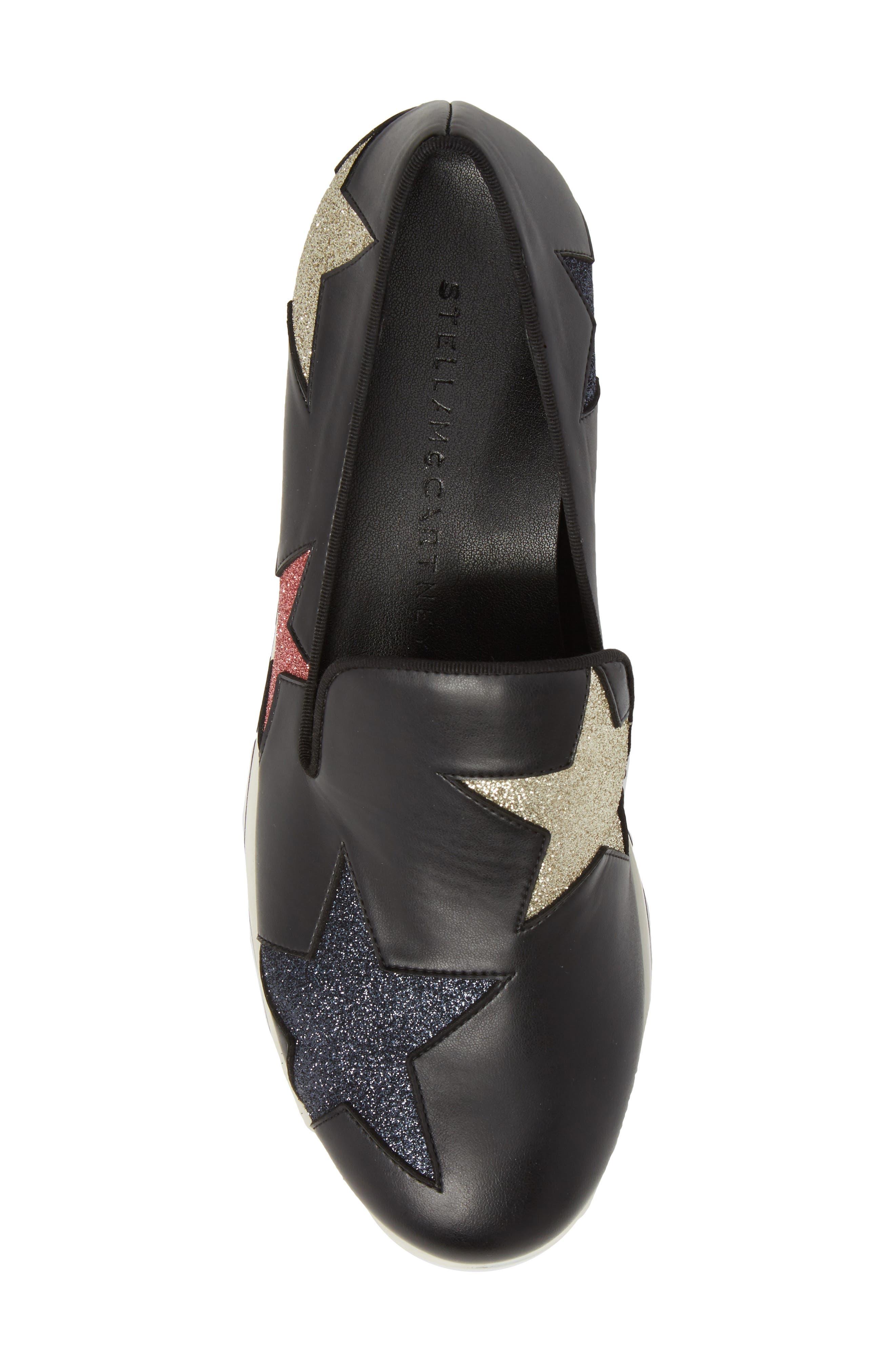 Binx Star Loafer,                             Alternate thumbnail 5, color,                             Black
