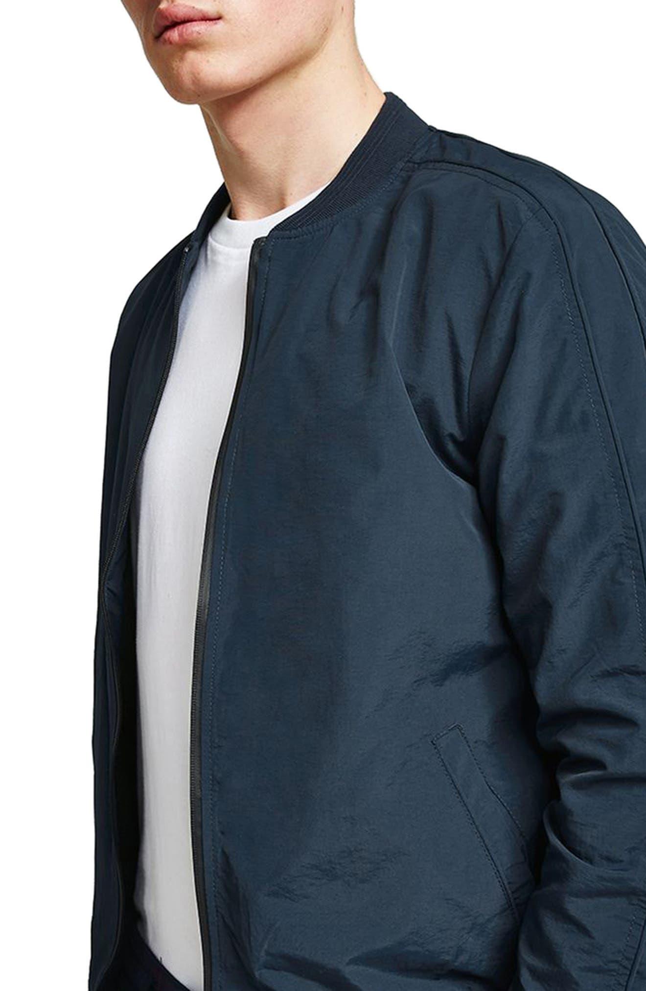 Topman Nylon Bomber Jacket
