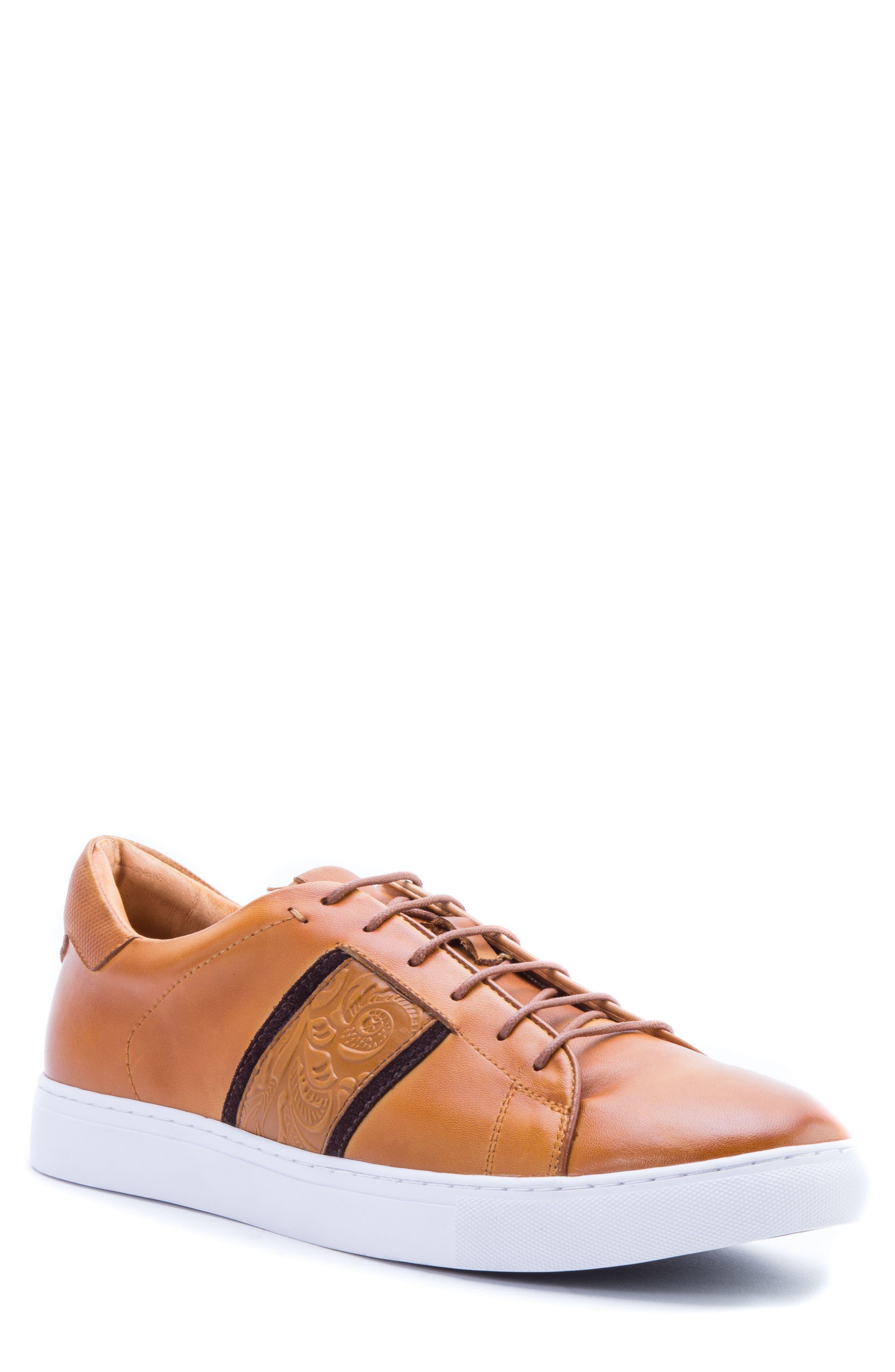 Robert Graham Delgado Embossed Sneaker (Men)