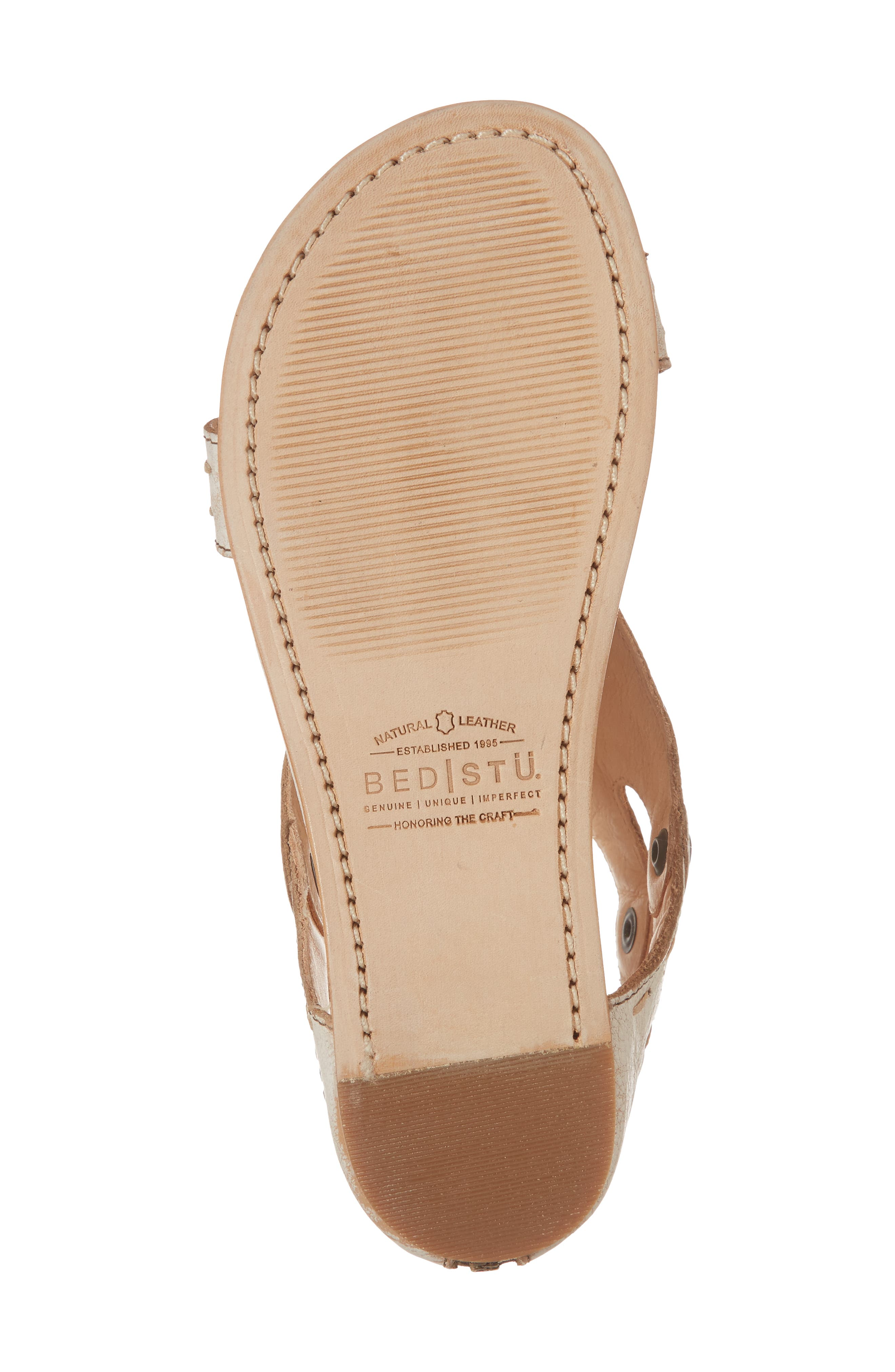 Soto Sandal,                             Alternate thumbnail 6, color,                             Nectar Leather
