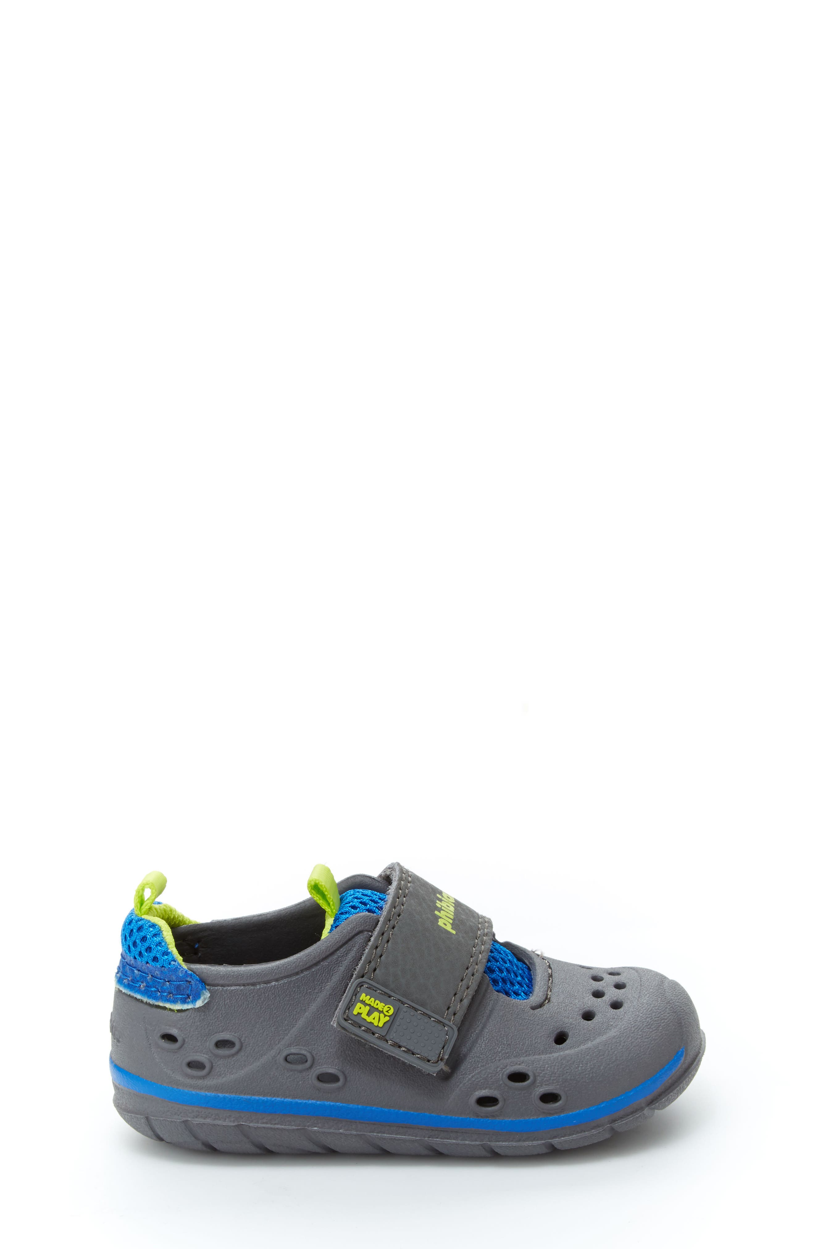 'Made2Play<sup>®</sup> Phibian' Sneaker,                             Alternate thumbnail 2, color,                             Grey/ Grey