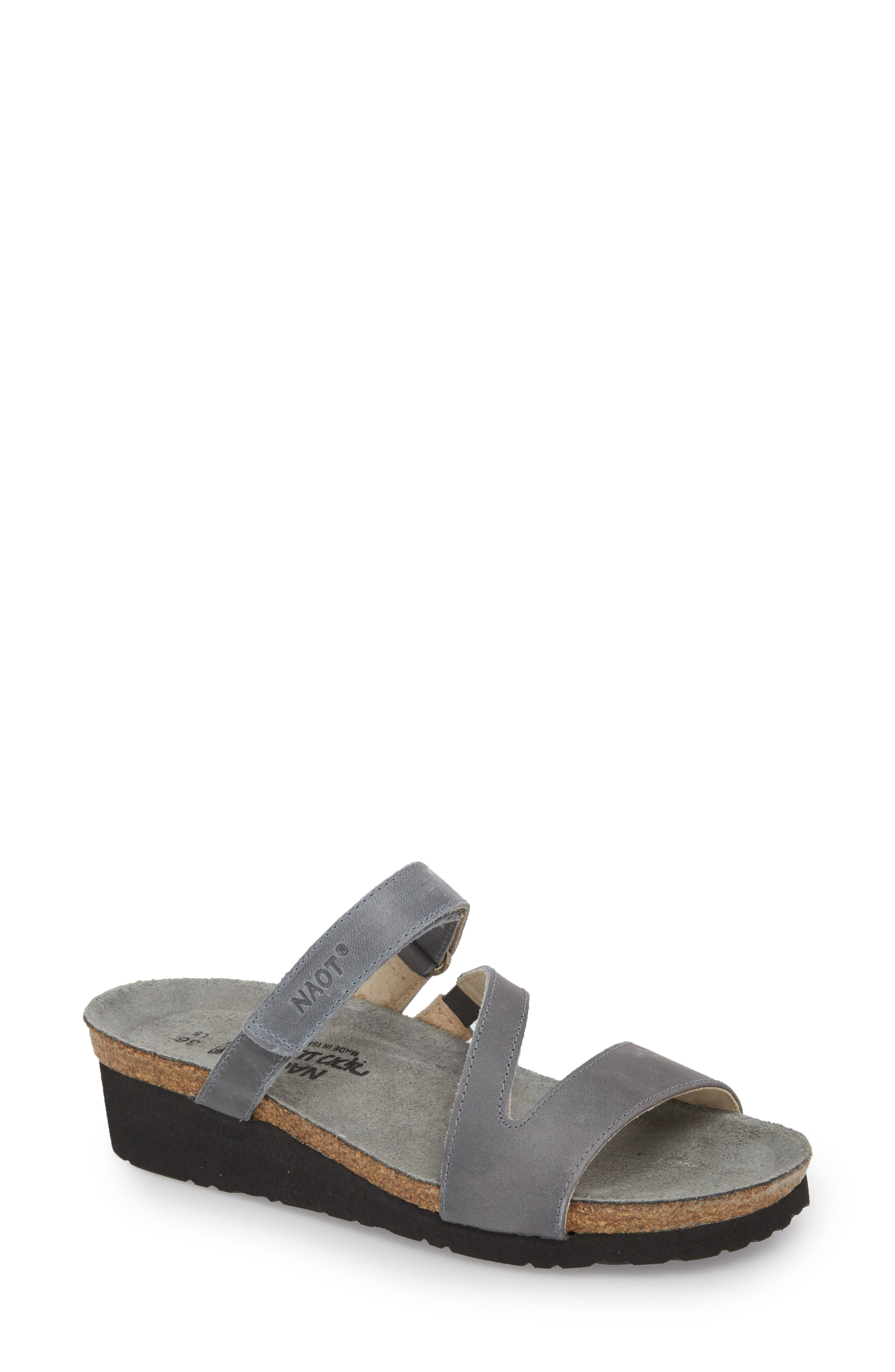 Gabriela Sandal,                         Main,                         color, Vintage Slate Leather