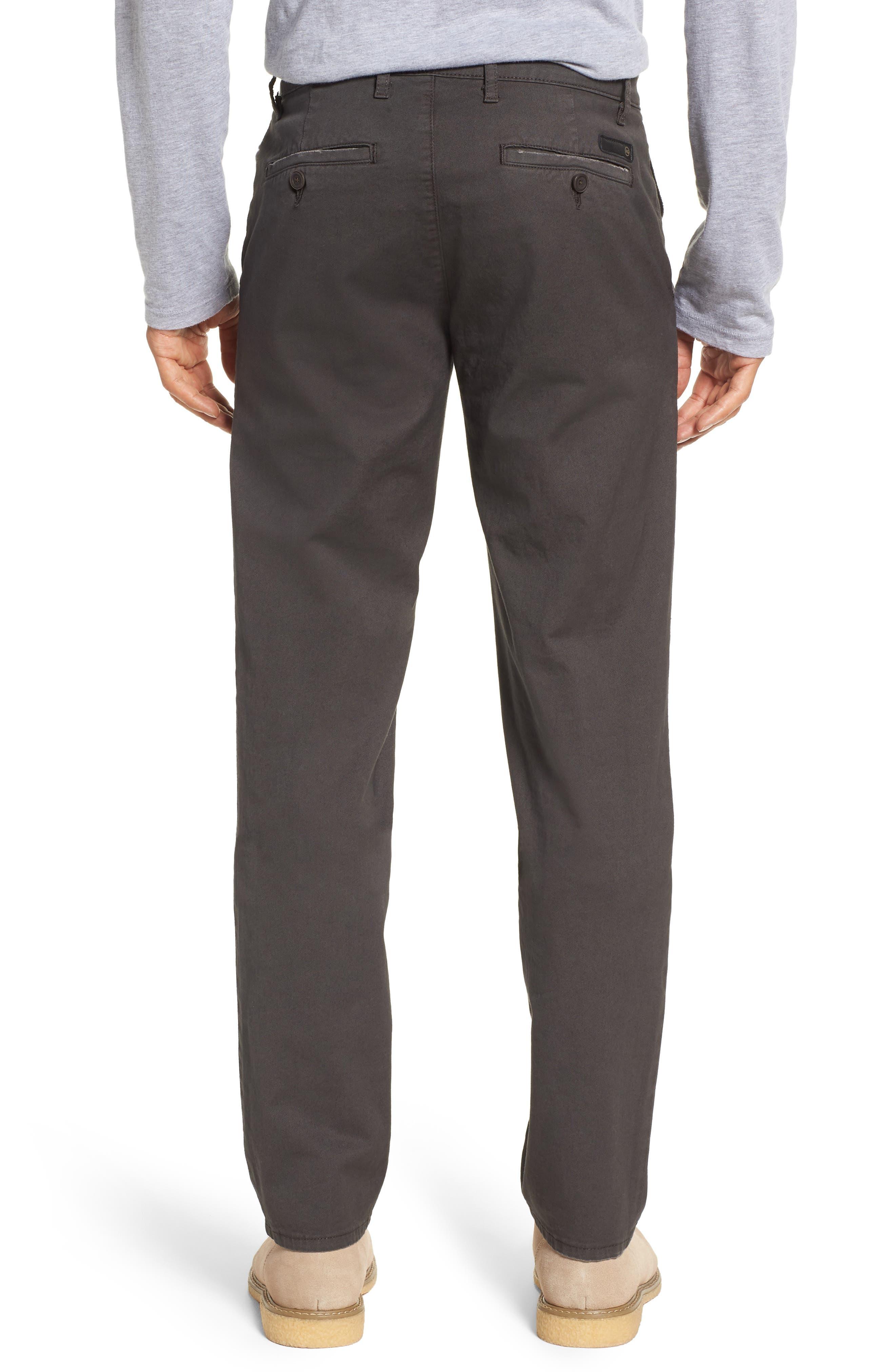 Alternate Image 2  - AG Marshall Slim Straight Leg Chino Pants