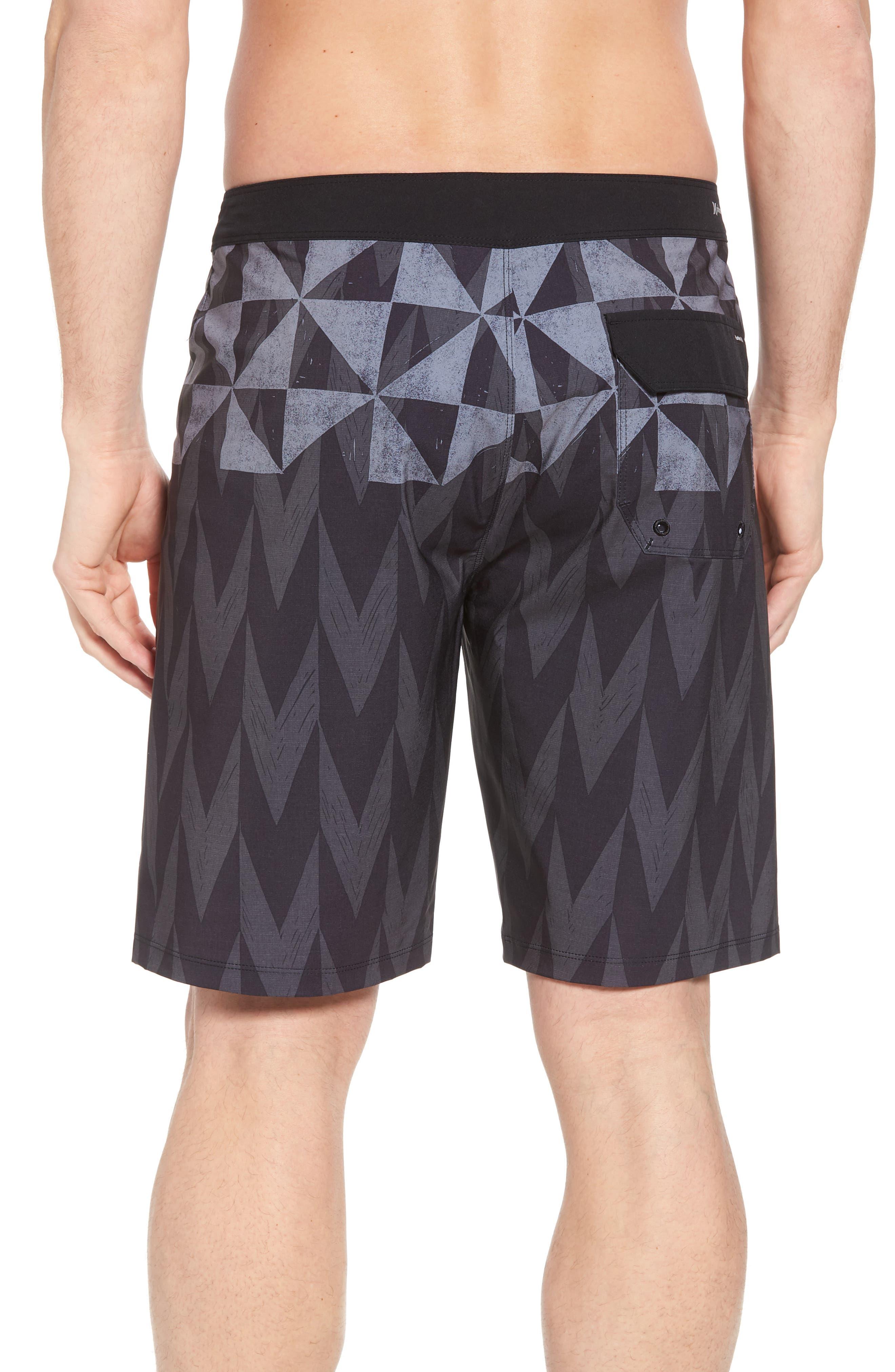 Phantom Bula Board Shorts,                             Alternate thumbnail 2, color,                             Black