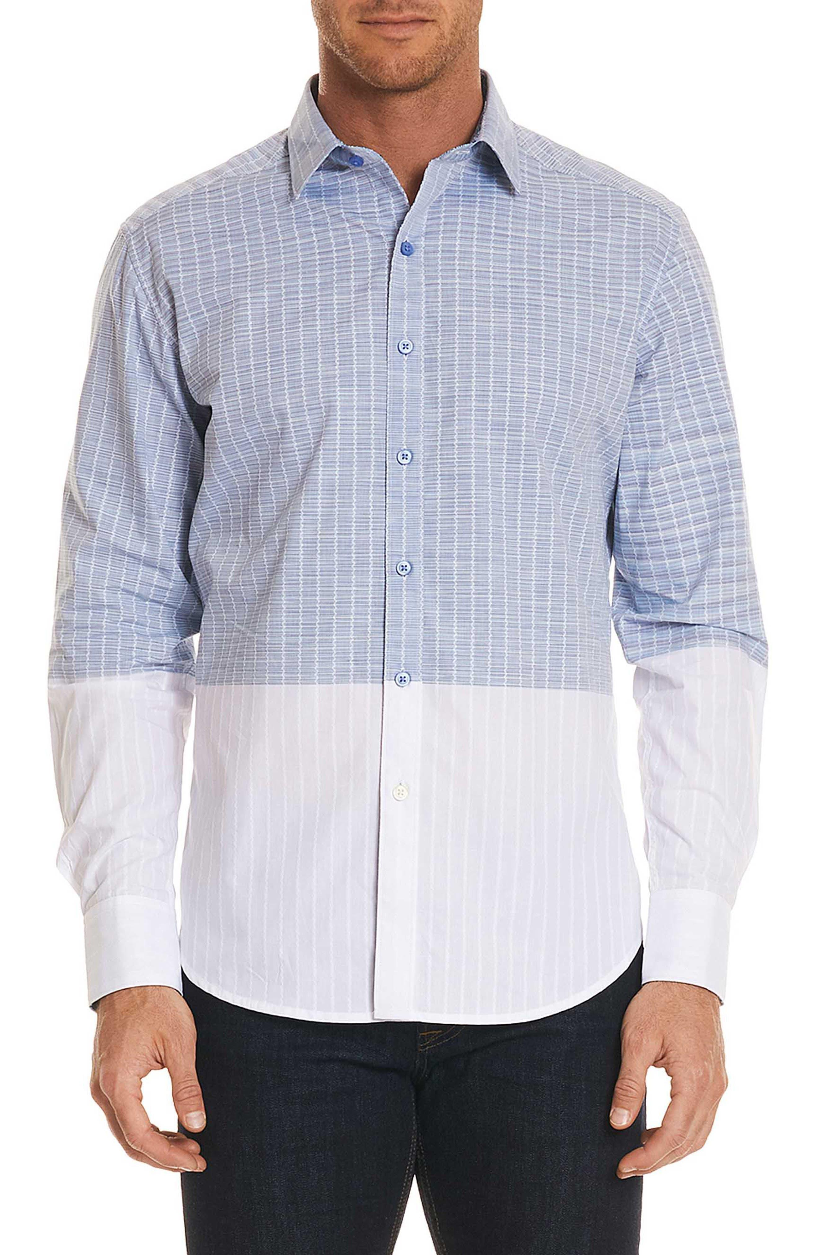 Cano Classic Fit Sport Shirt,                         Main,                         color, Blue