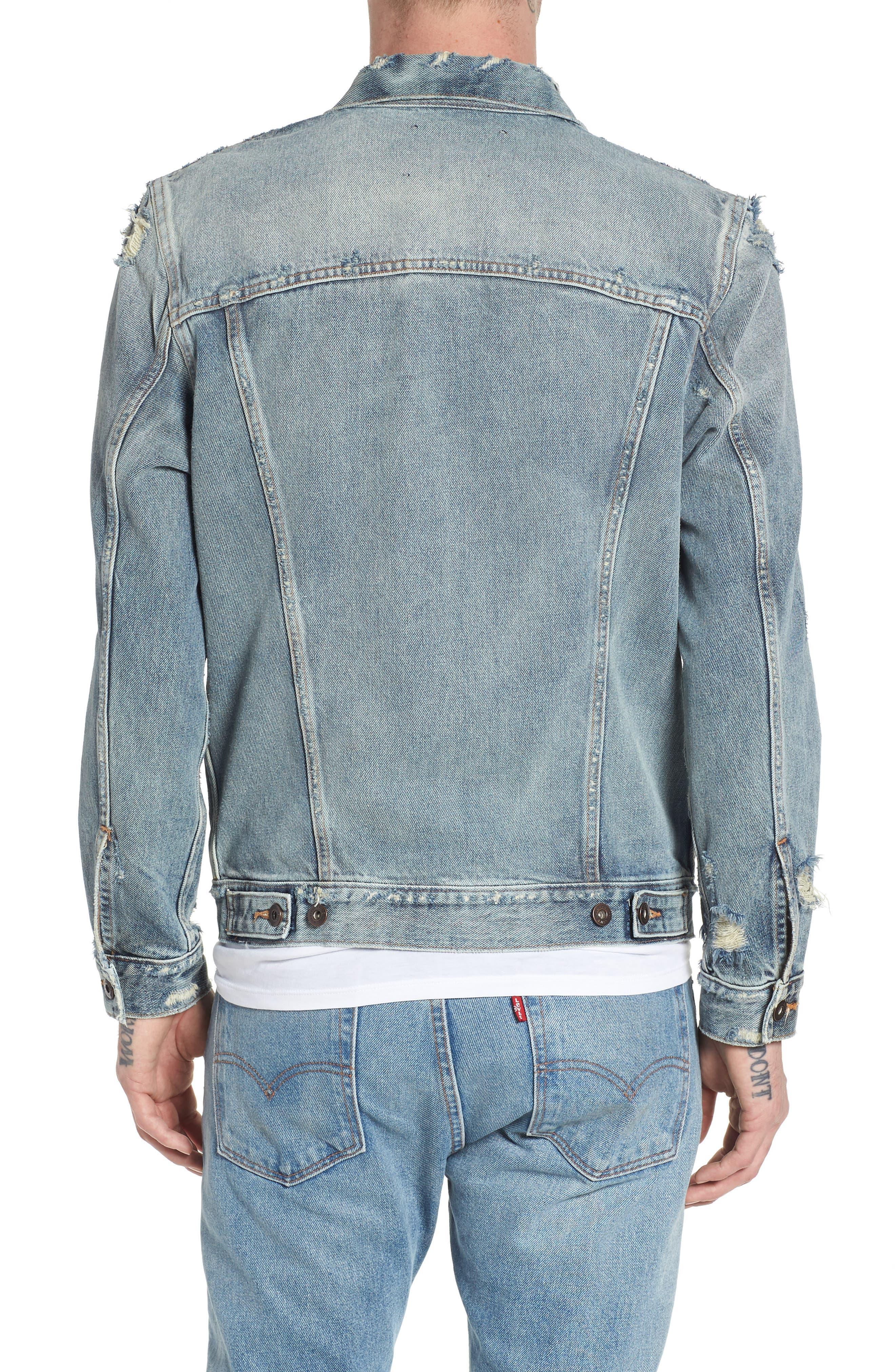Type II Standard Fit Jacket,                             Alternate thumbnail 2, color,                             Trashed
