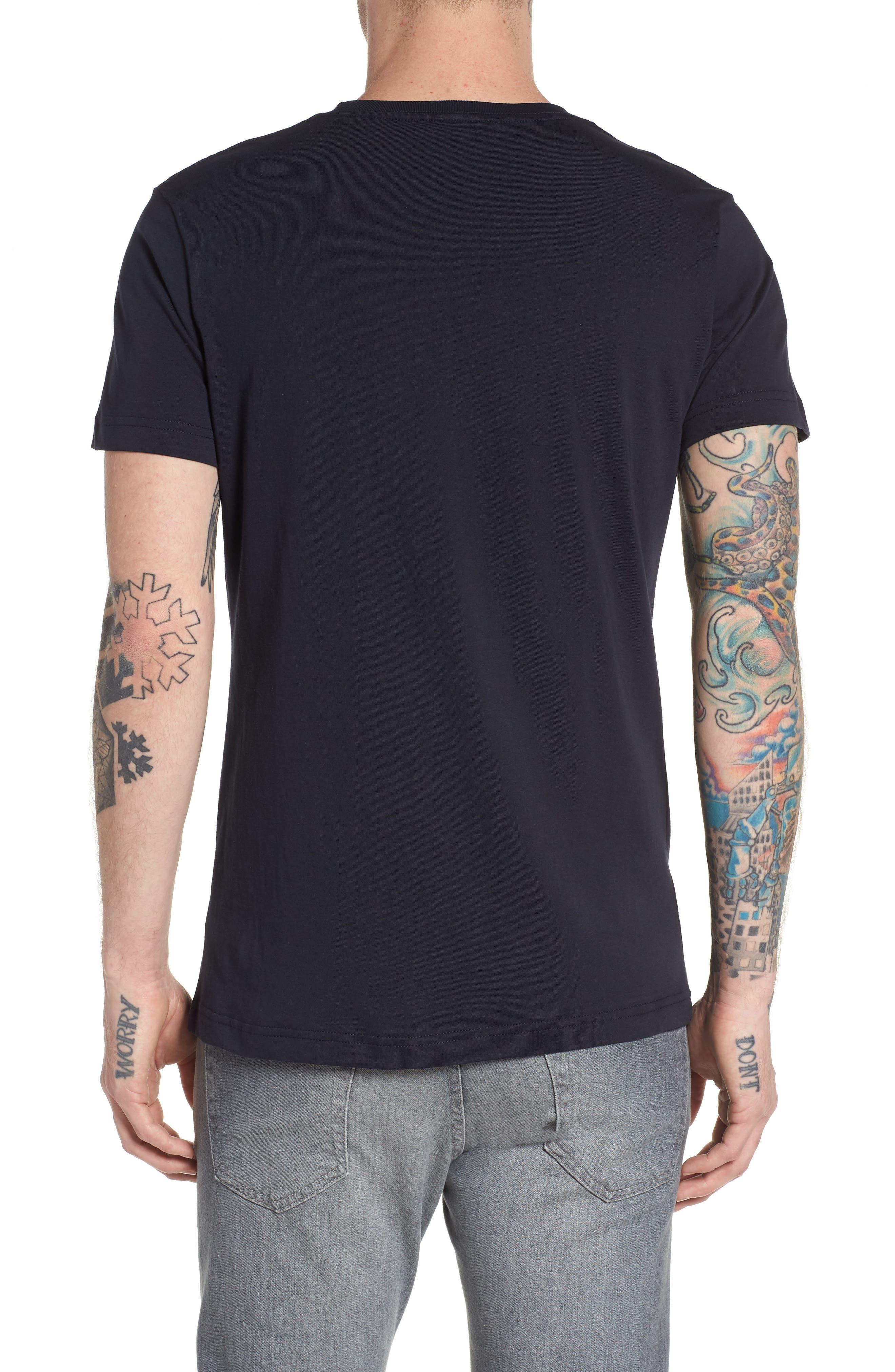 T-Diego-QA T-Shirt,                             Alternate thumbnail 2, color,                             Navy