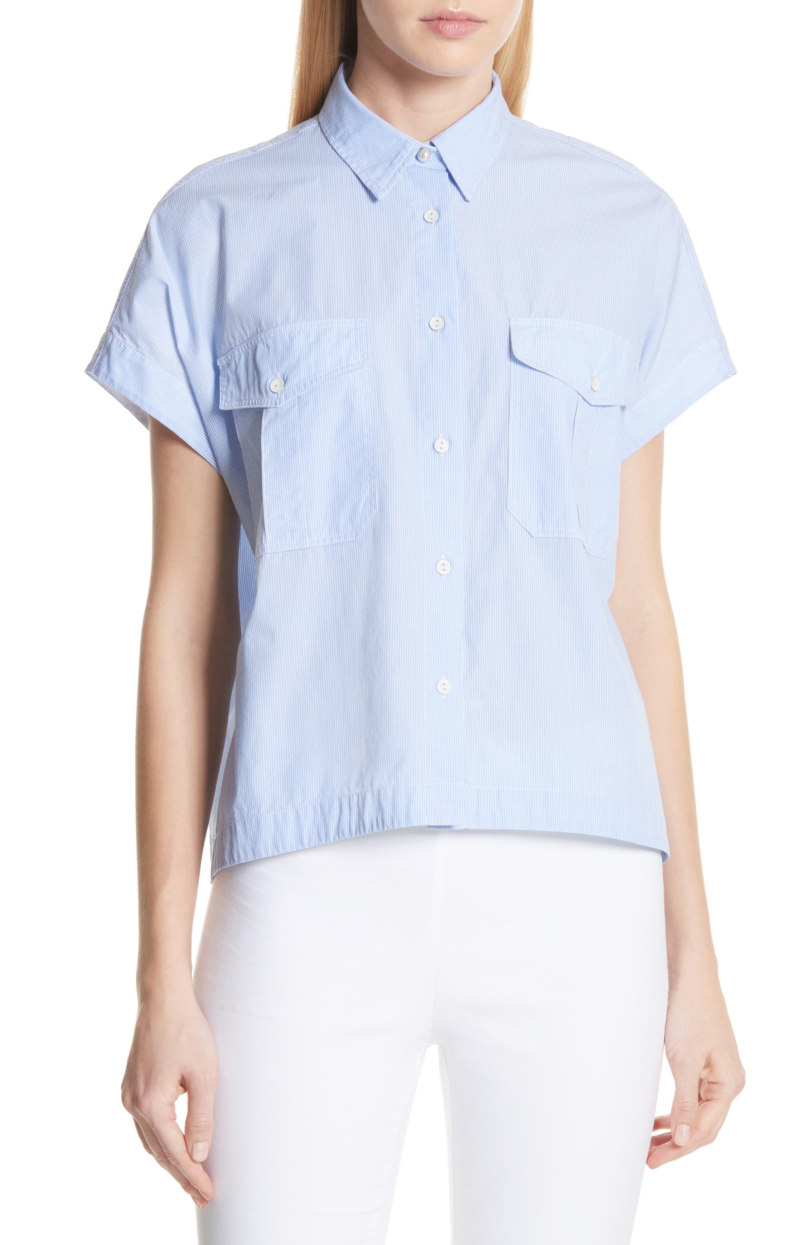 Pearson Shirt,                             Main thumbnail 1, color,                             Light Blue Multi