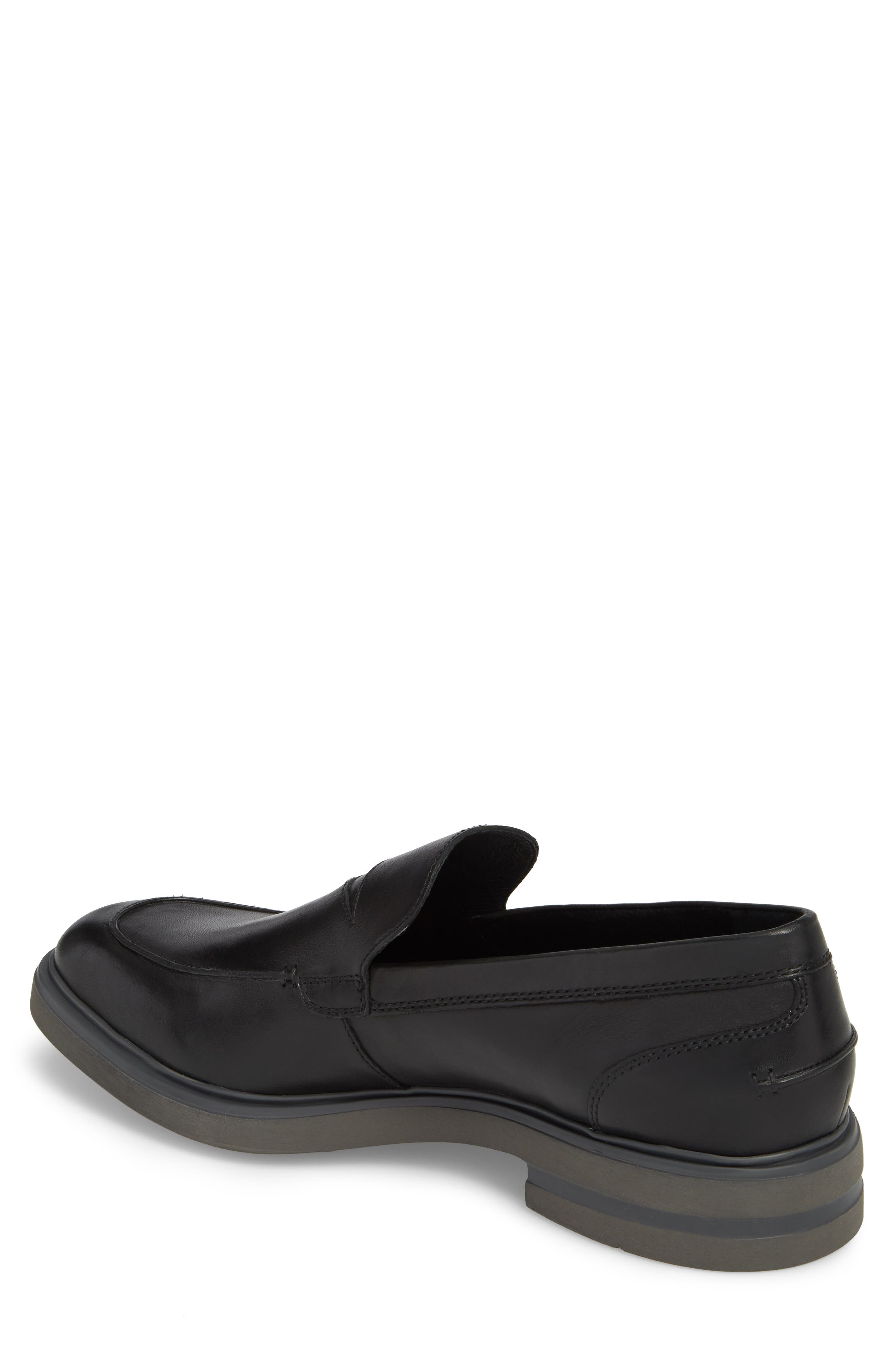 Edwyn Deconstructed Penny Loafer,                             Alternate thumbnail 2, color,                             Black Leather