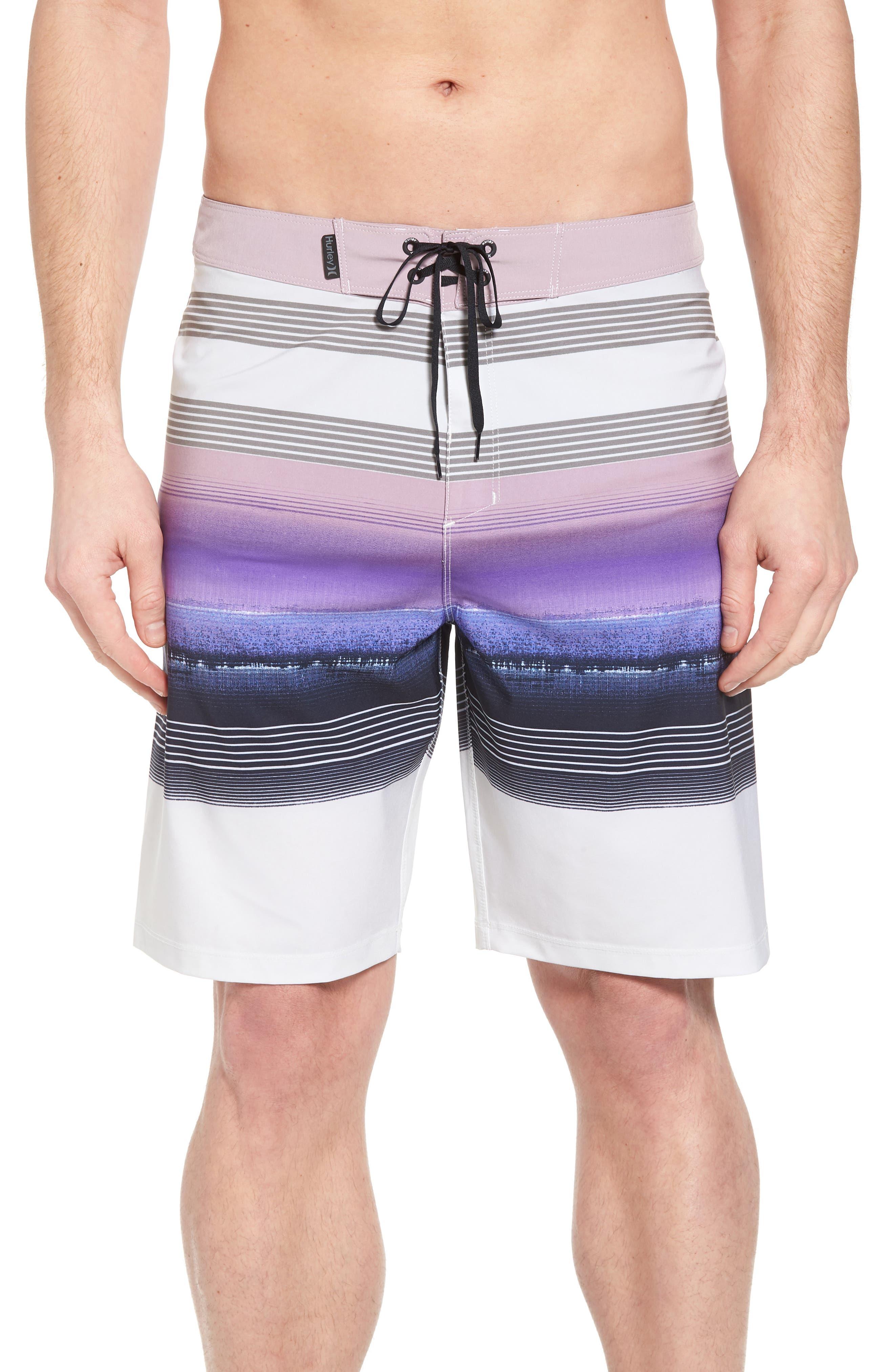 Phantom Gaviota Board Shorts,                         Main,                         color, Light Bone
