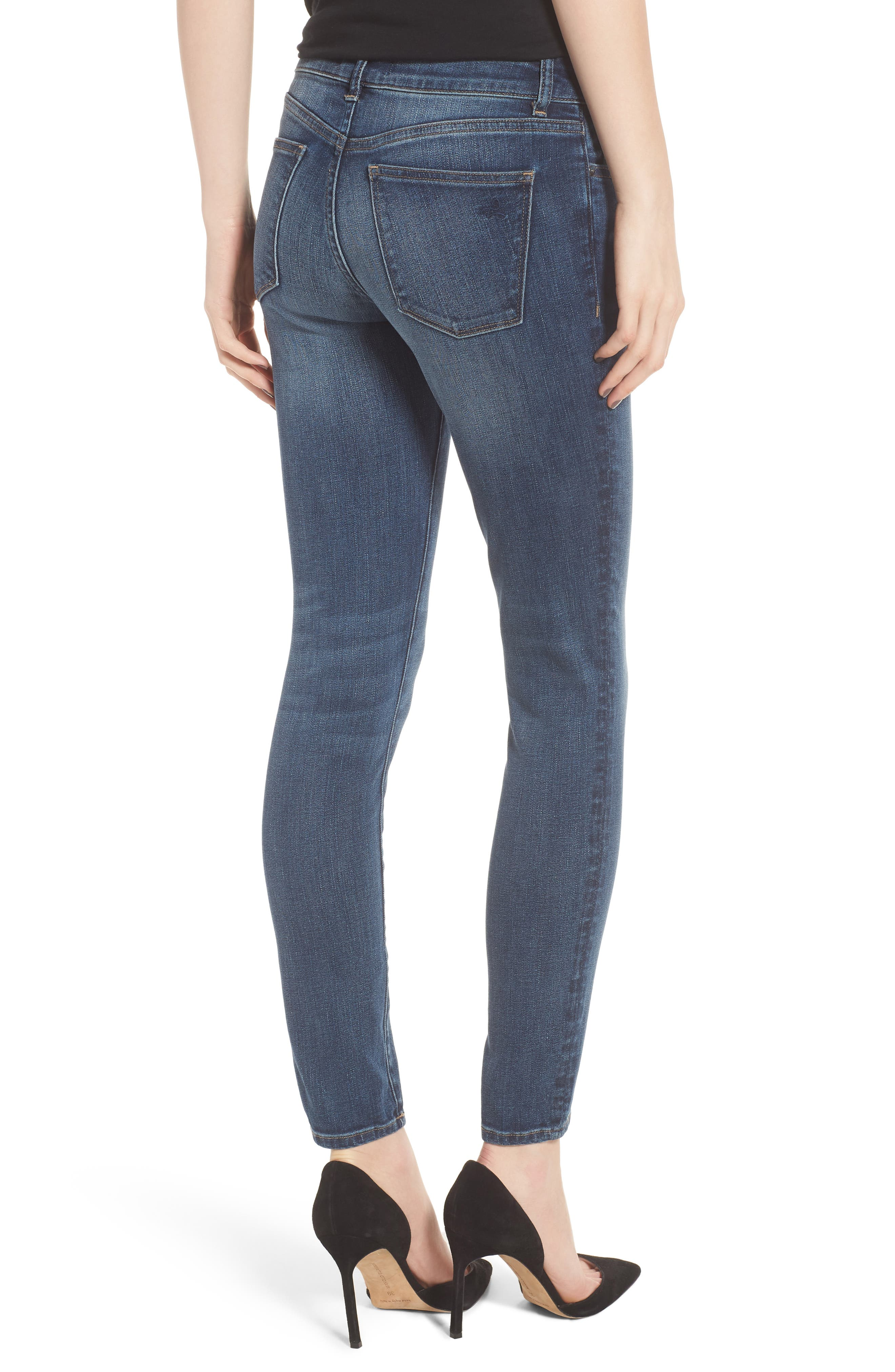 Margaux Instasculpt Ankle Skinny Jeans,                             Alternate thumbnail 2, color,                             Paramount