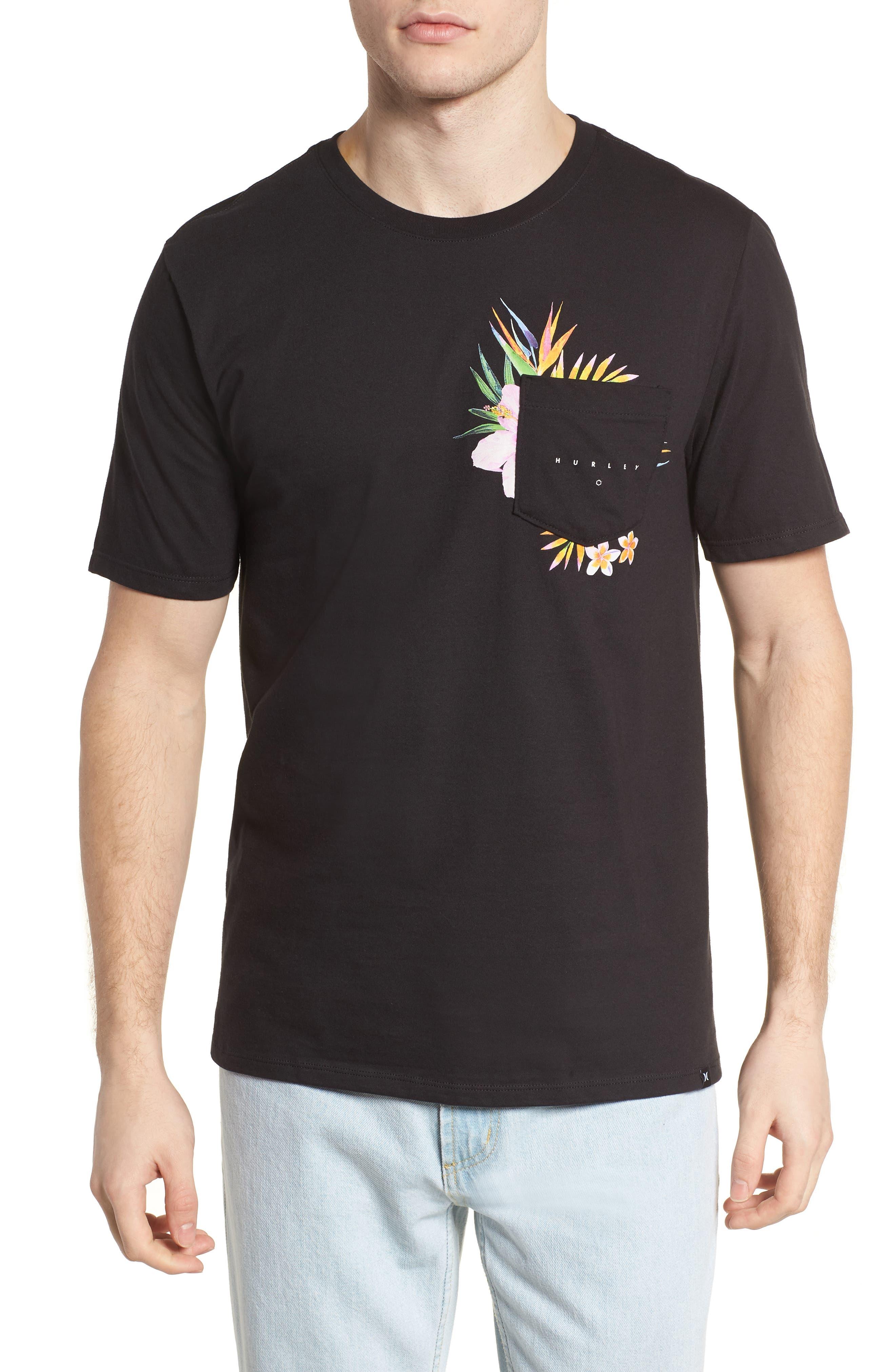 Overgrown Short Sleeve T-Shirt,                         Main,                         color, Black