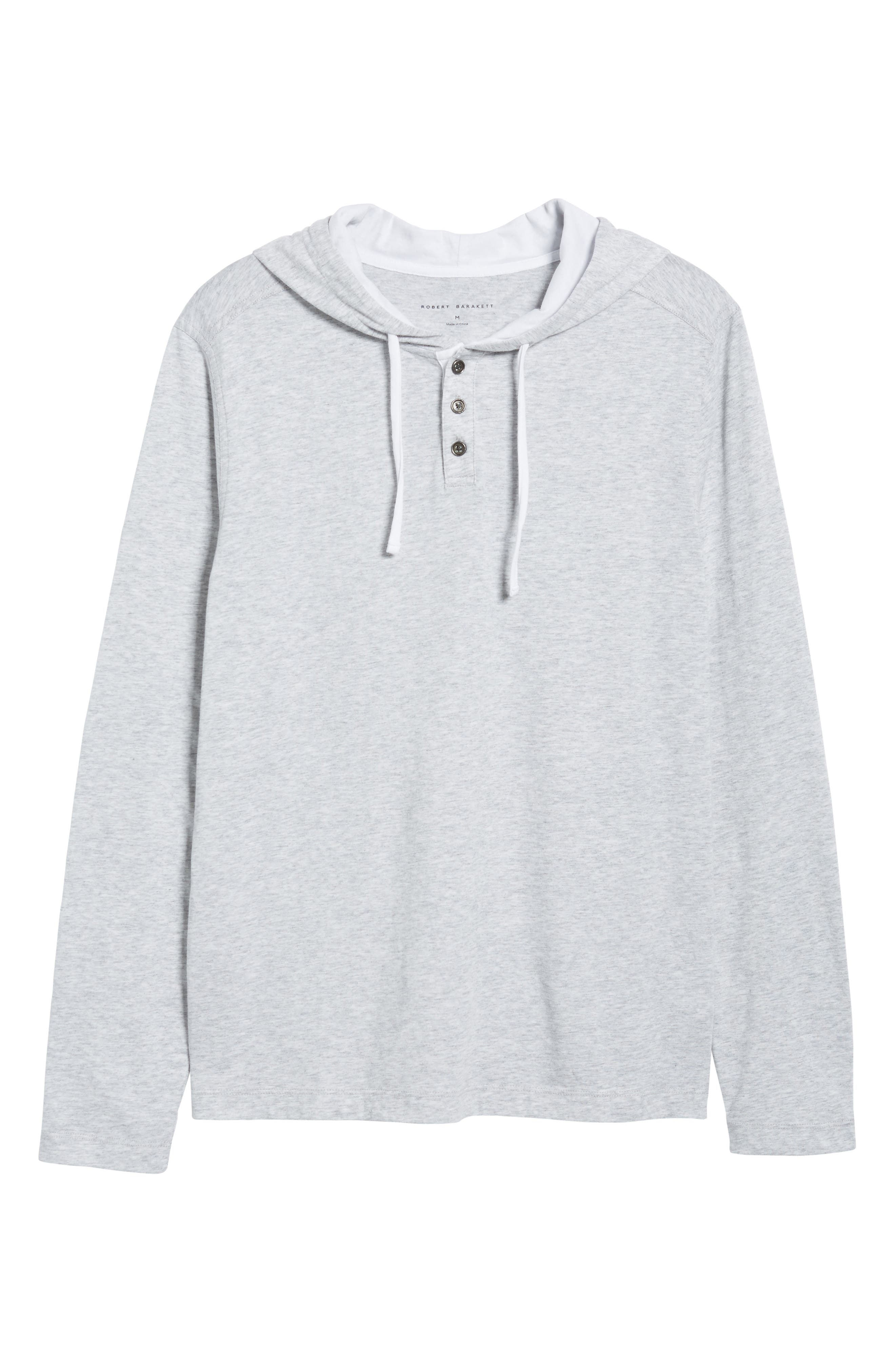 Carl Pullover Hoodie,                             Alternate thumbnail 6, color,                             Dove Grey