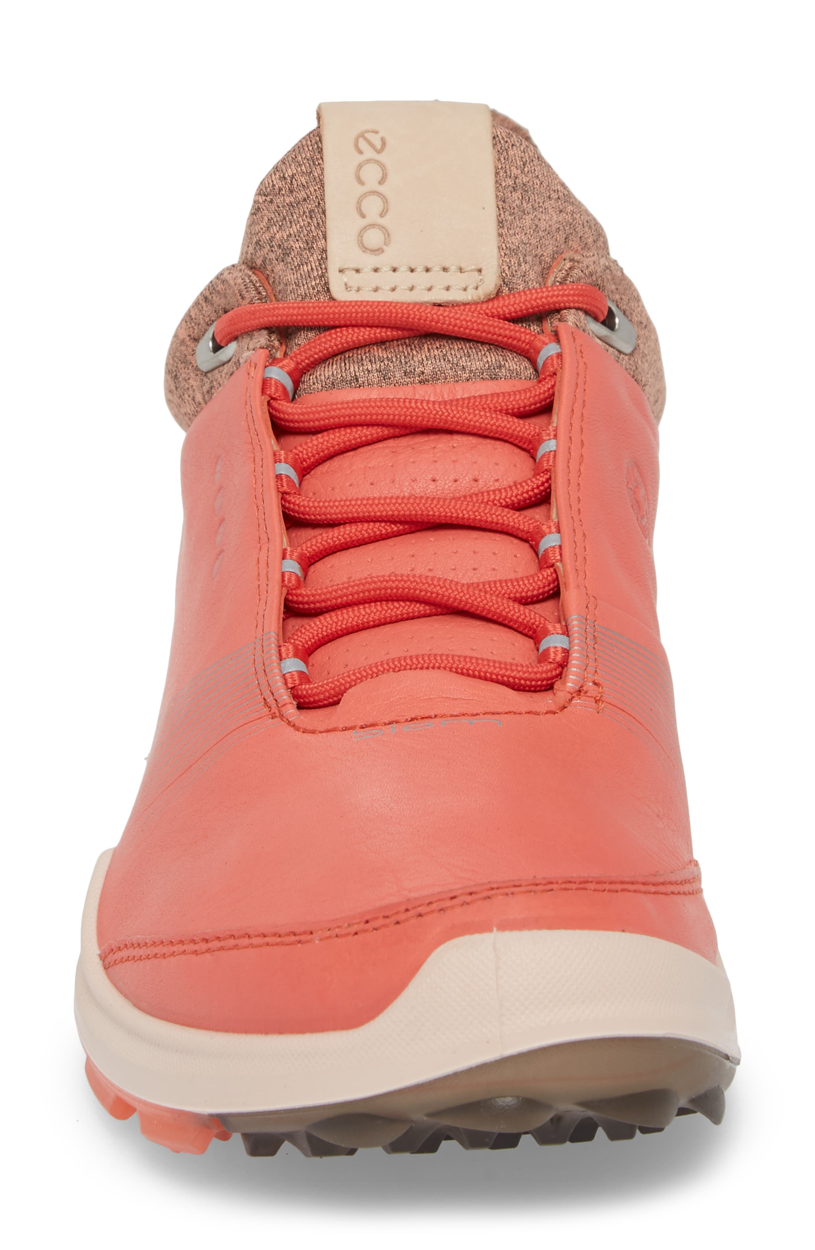 BIOM 2 Hybrid Gore-Tex<sup>®</sup> Golf Shoe,                             Alternate thumbnail 4, color,                             Spiced Coral Leather