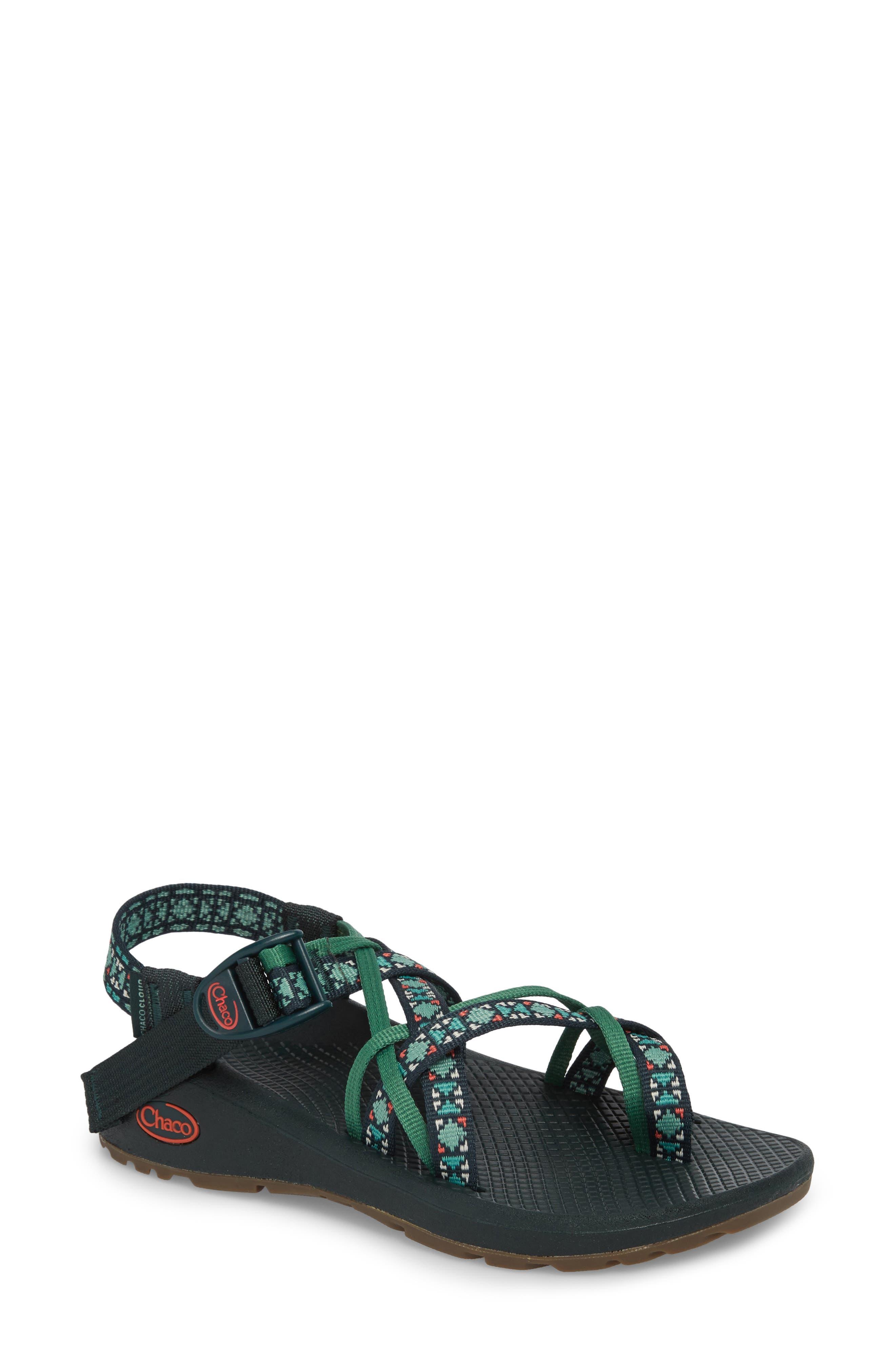 Z/Cloud X2 Remix Sport Sandal,                             Main thumbnail 1, color,                             Creed Pine