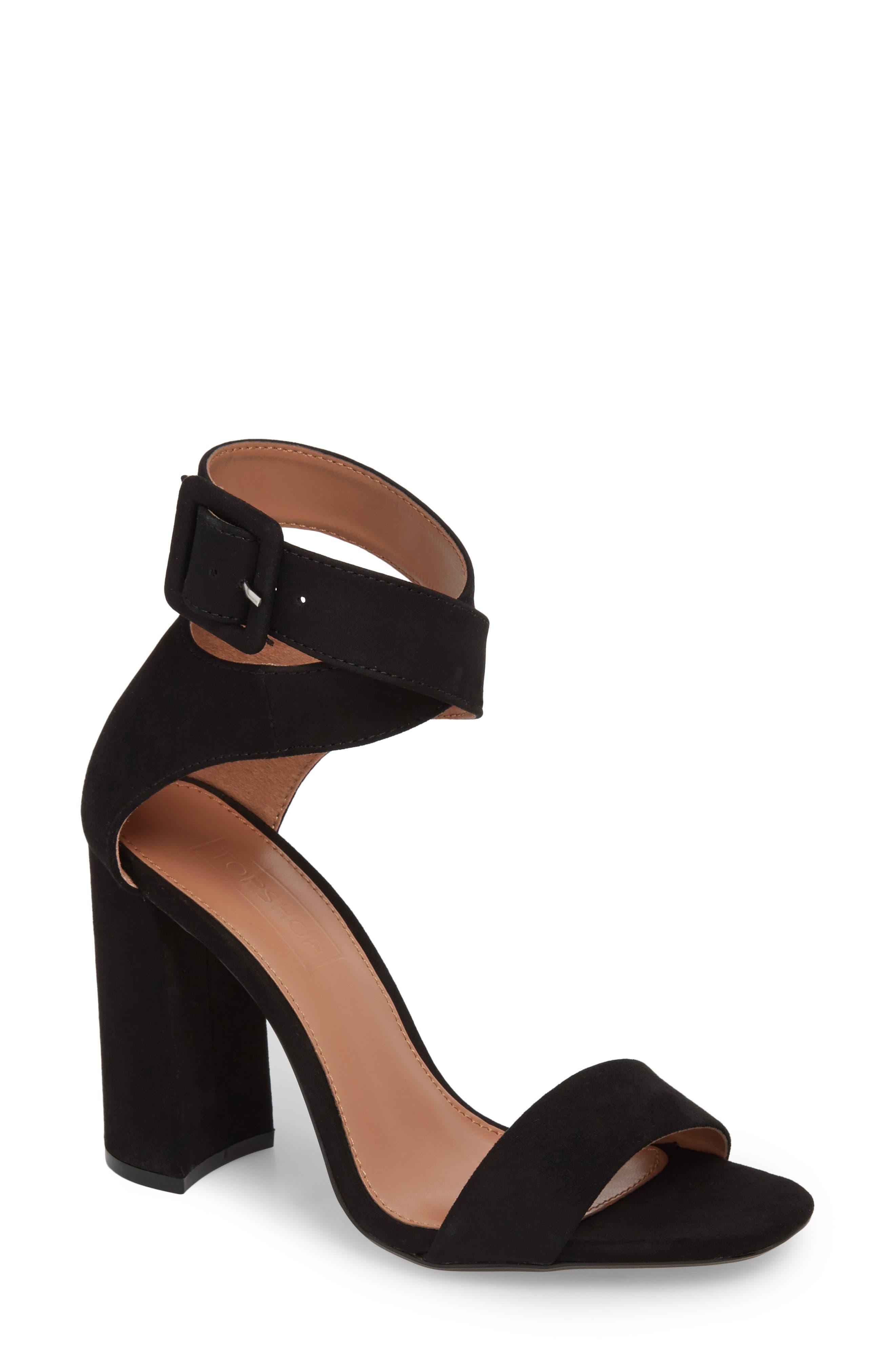 Sinitta Crossover Sandal,                         Main,                         color, Black