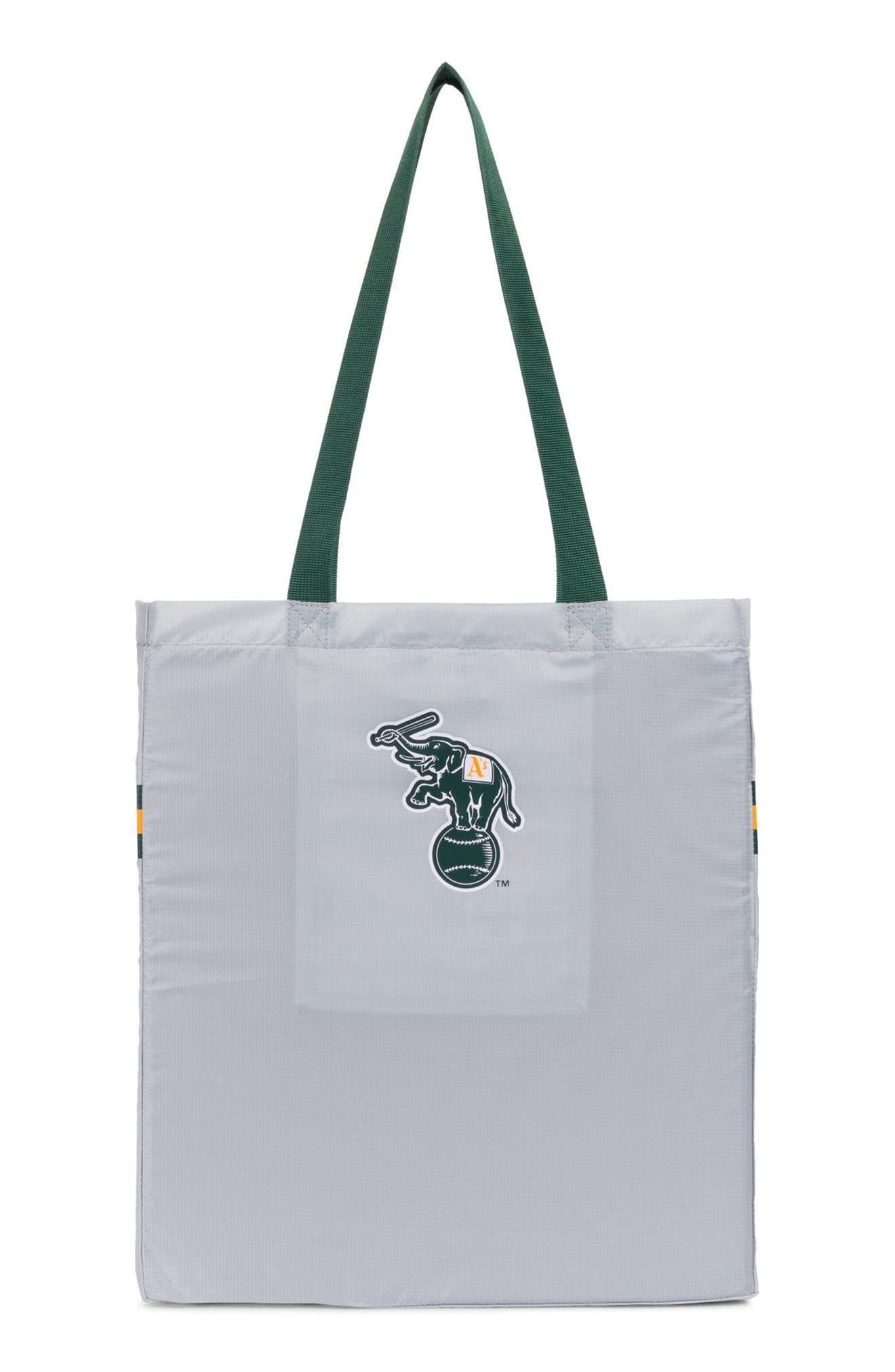 Packable - MLB American League Tote Bag,                             Alternate thumbnail 2, color,                             Oakland A