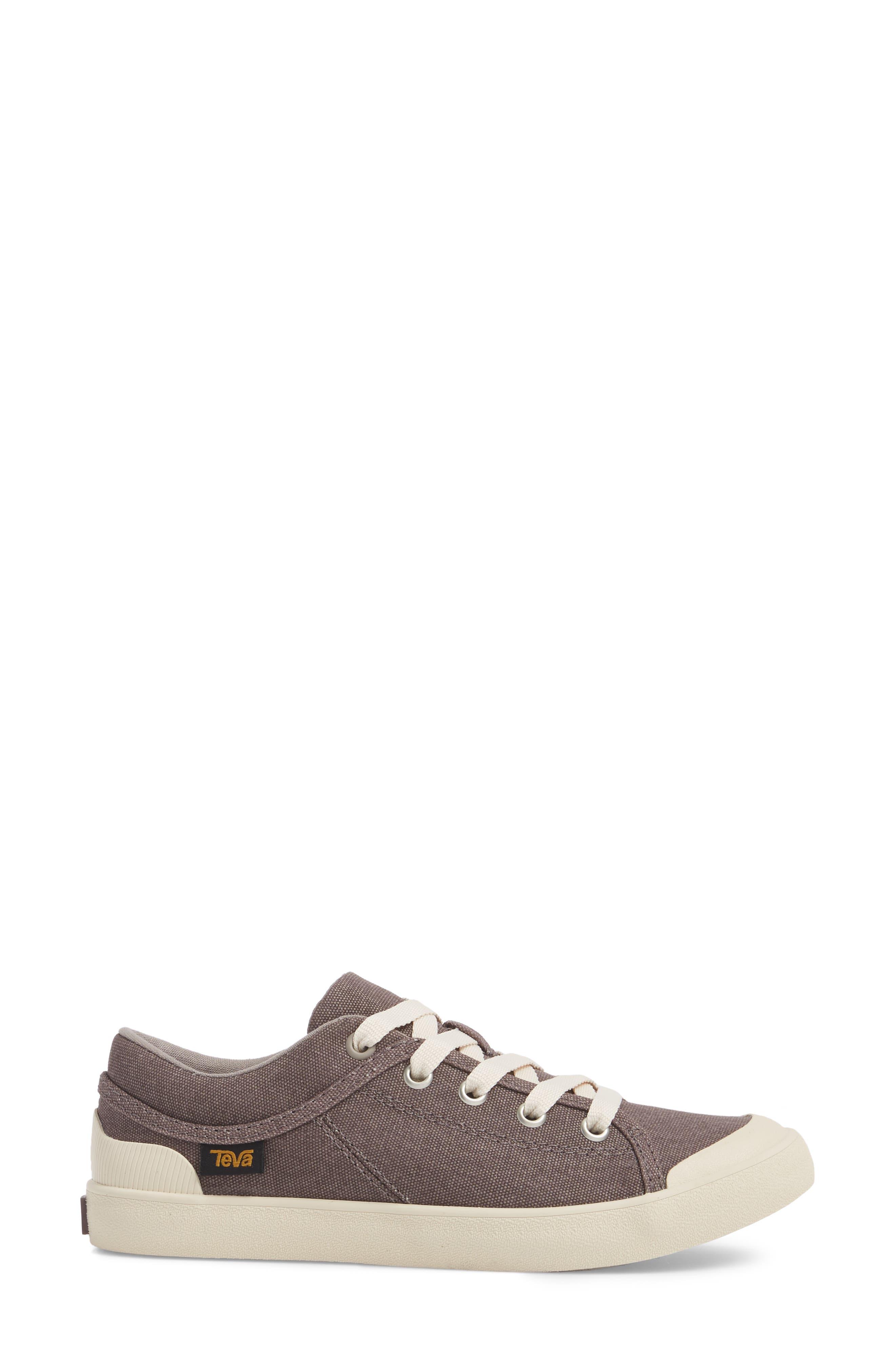 'Freewheel' Sneaker,                             Alternate thumbnail 3, color,                             Plum Truffle