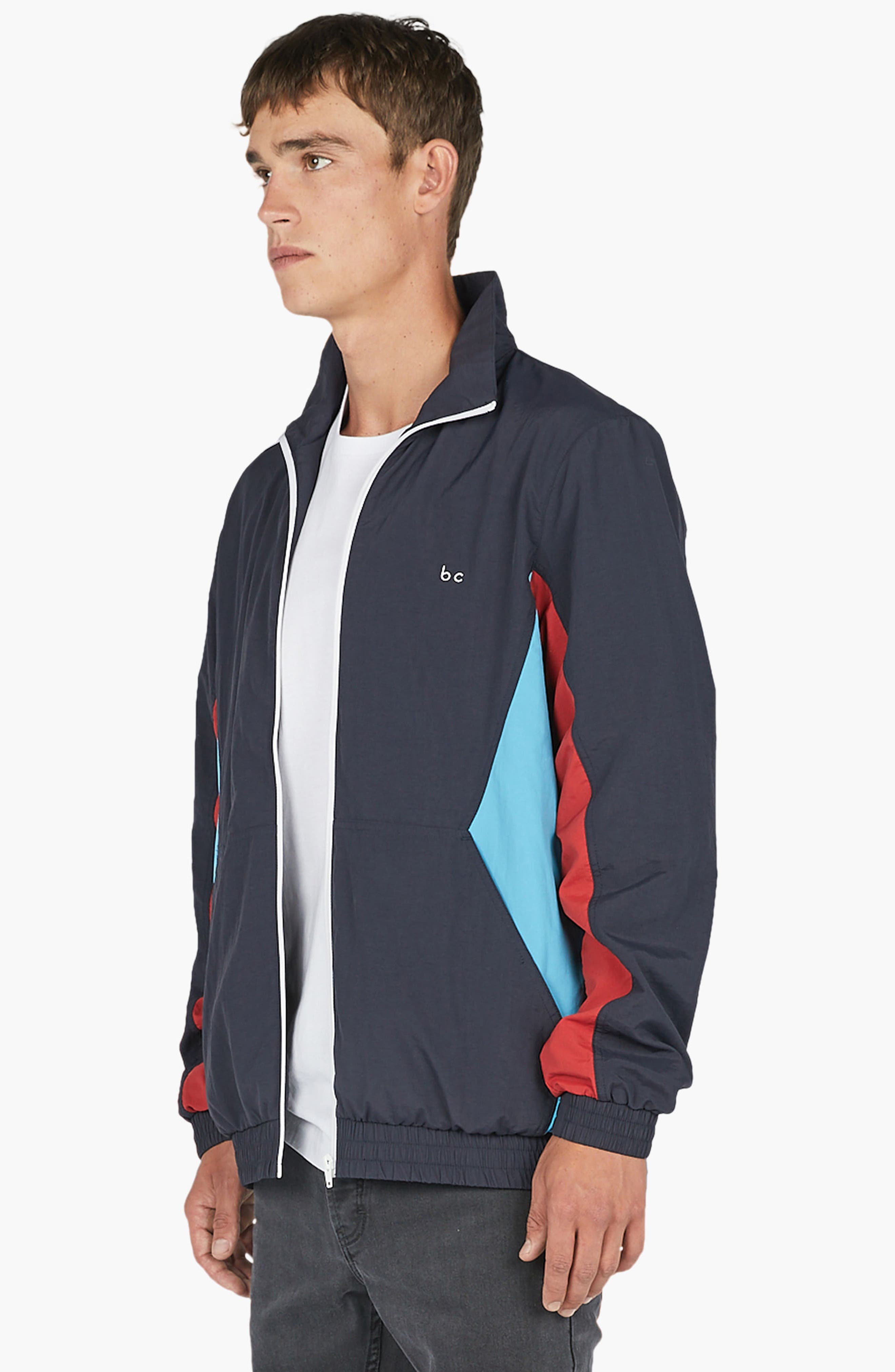 B. Quick Track Jacket,                             Alternate thumbnail 4, color,                             Navy Sport
