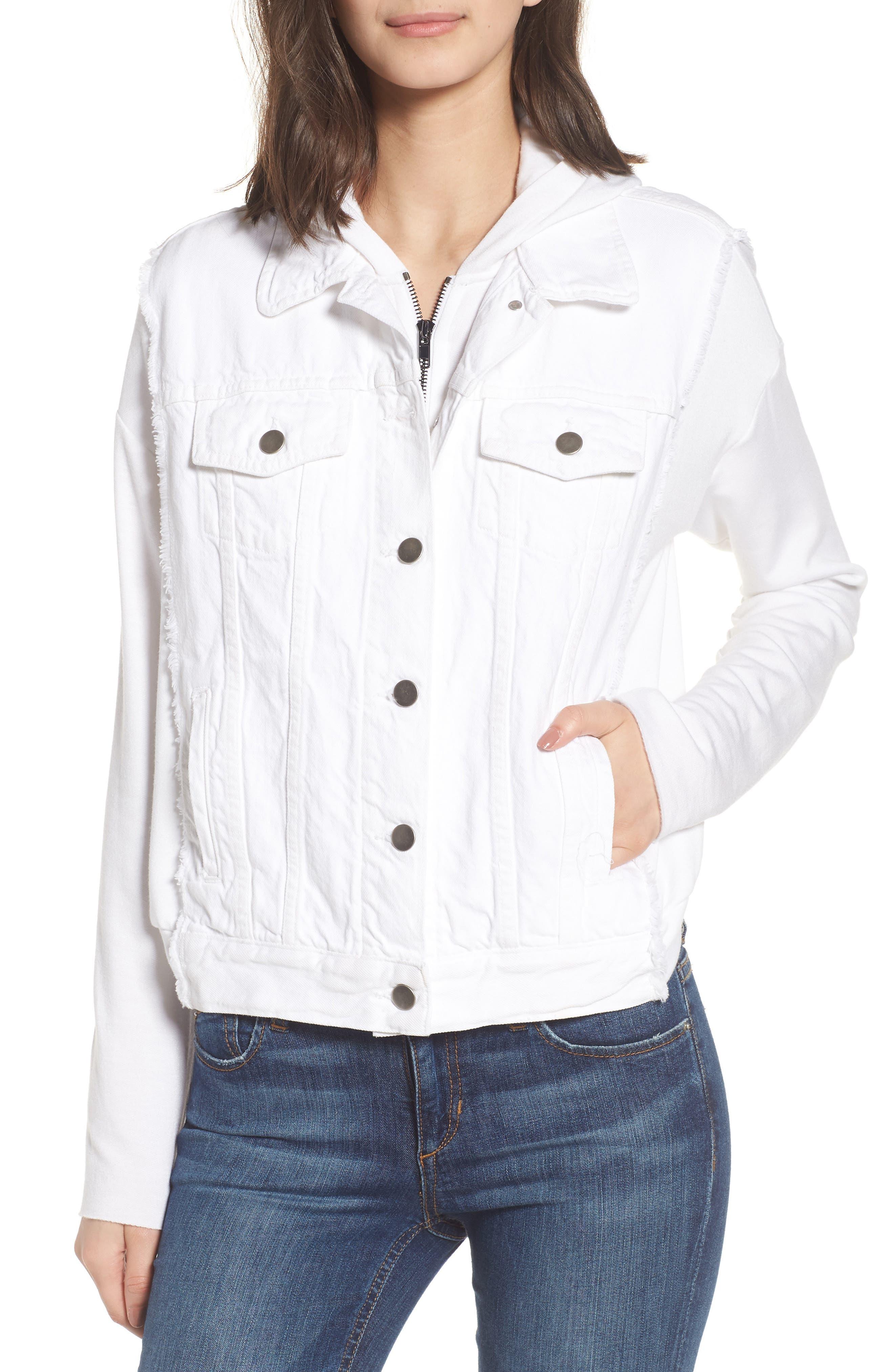 Bailey 44 Joy Juice Hooded Denim Jacket